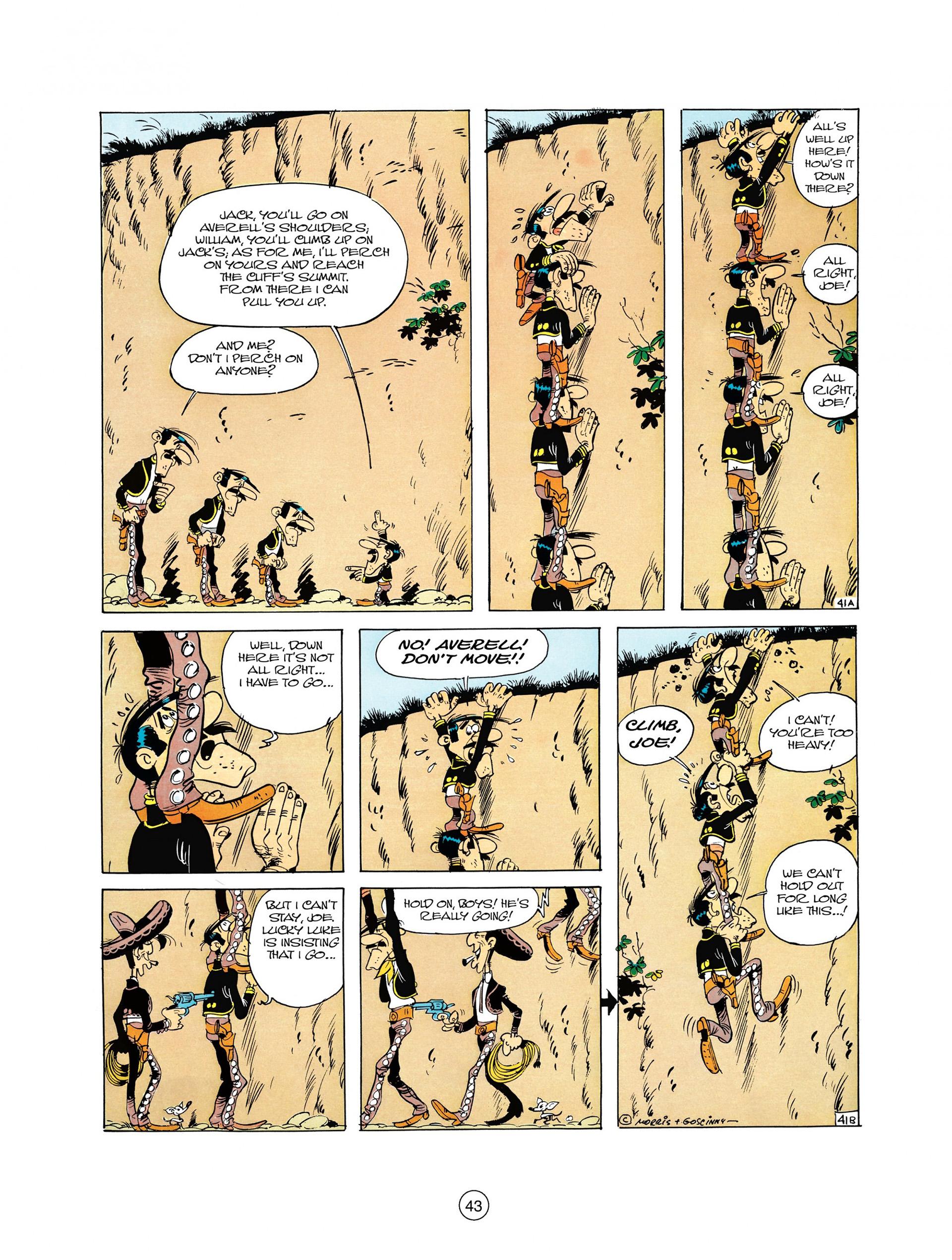 Read online A Lucky Luke Adventure comic -  Issue #10 - 43
