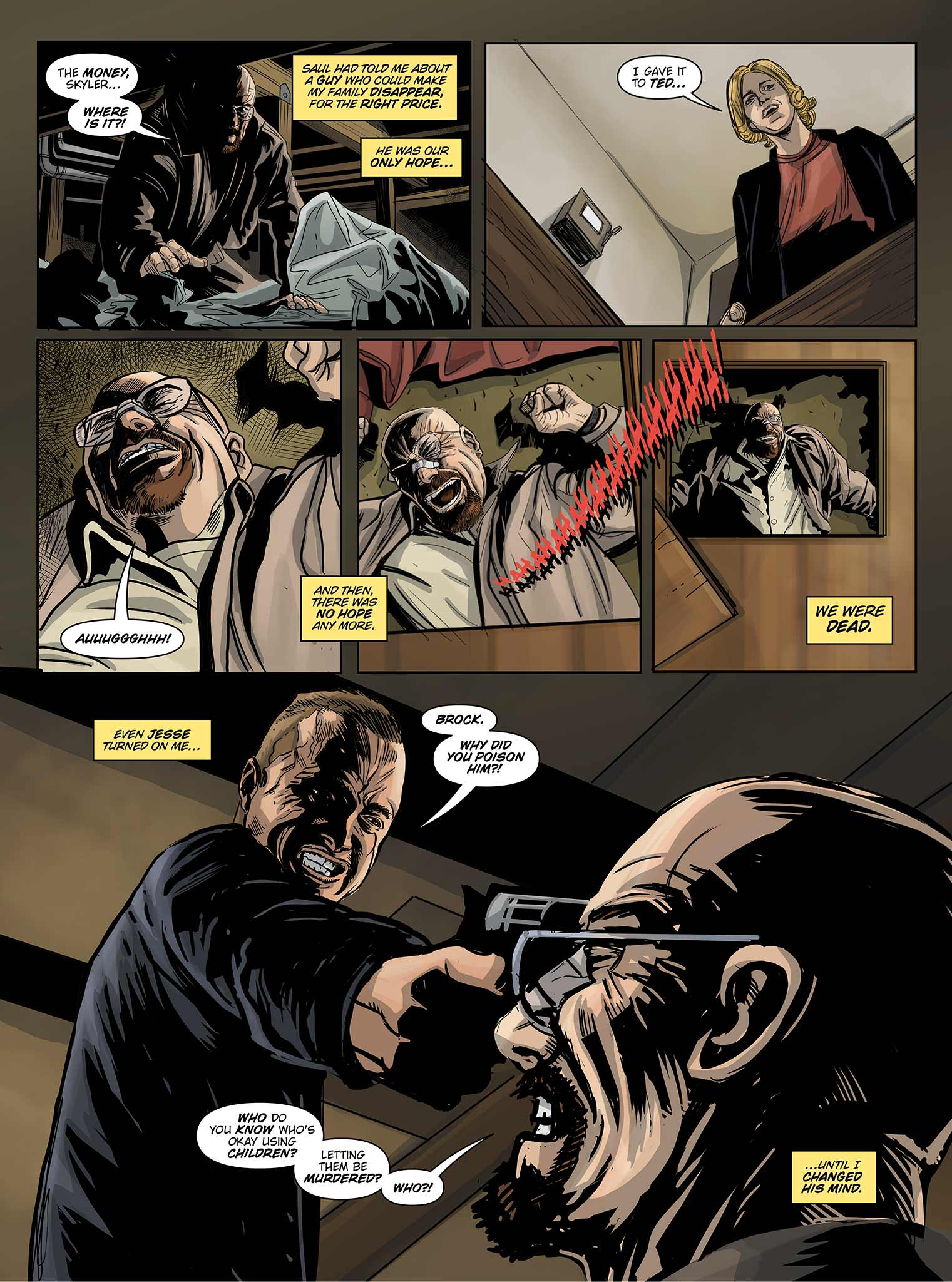 Read online Breaking Bad: All Bad Things comic -  Issue # Full - 16