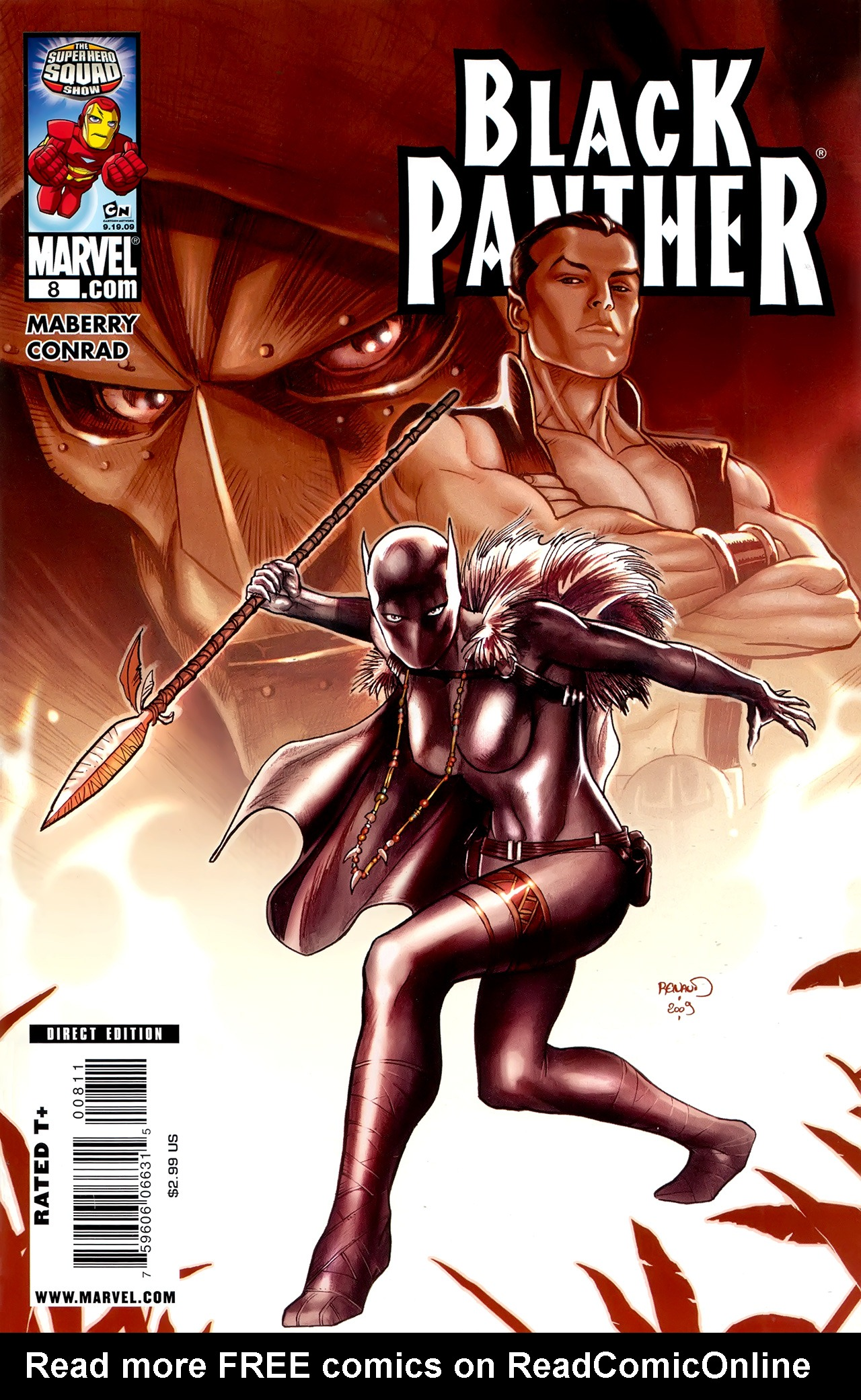 Black Panther (2009) 8 Page 1