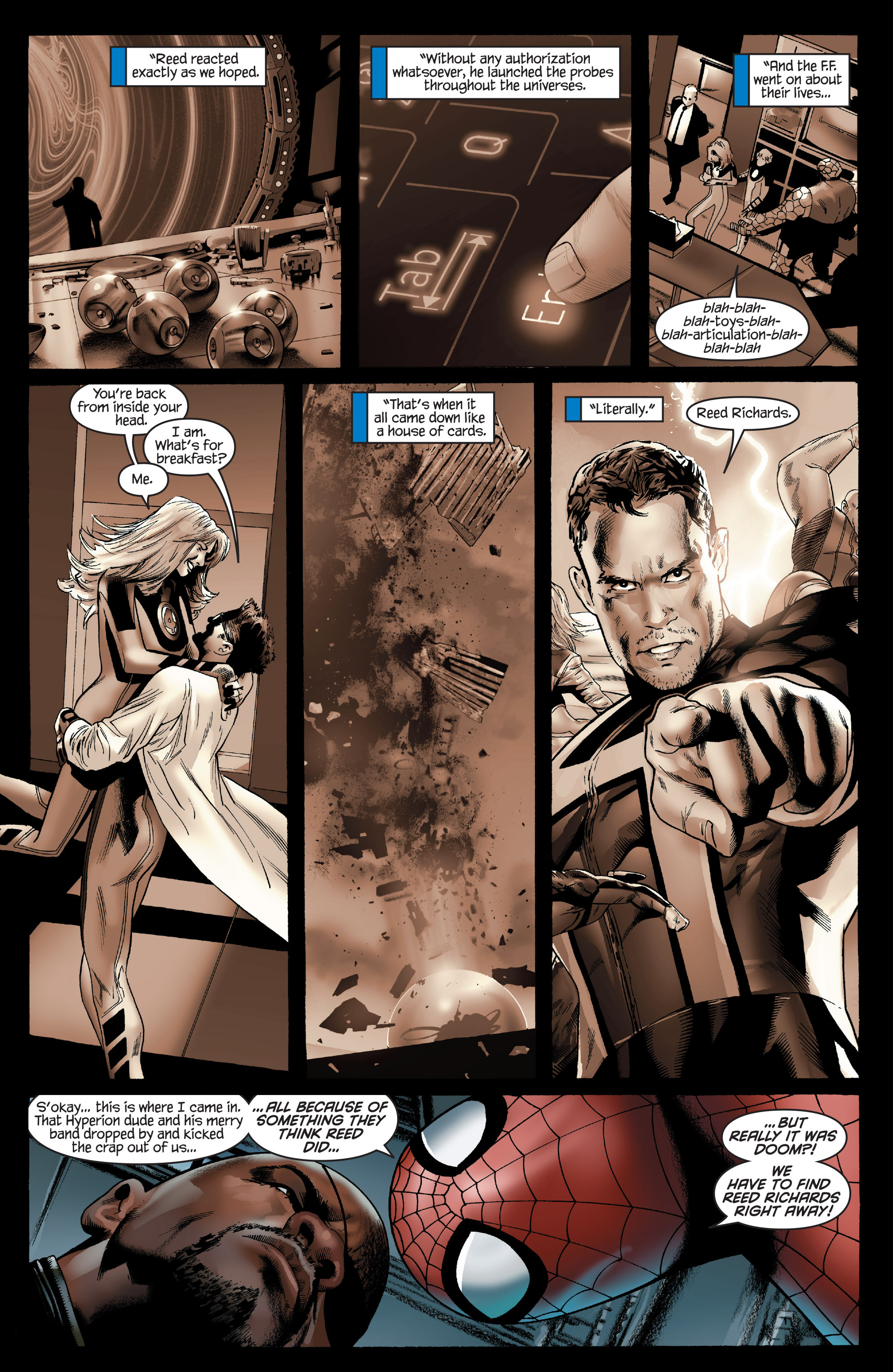 Read online Ultimate Power comic -  Issue #7 - 9