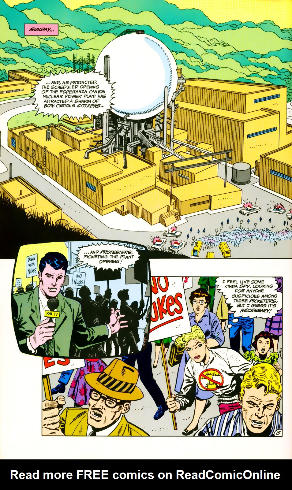 Read online Adventures of the Outsiders comic -  Issue #39 - 16