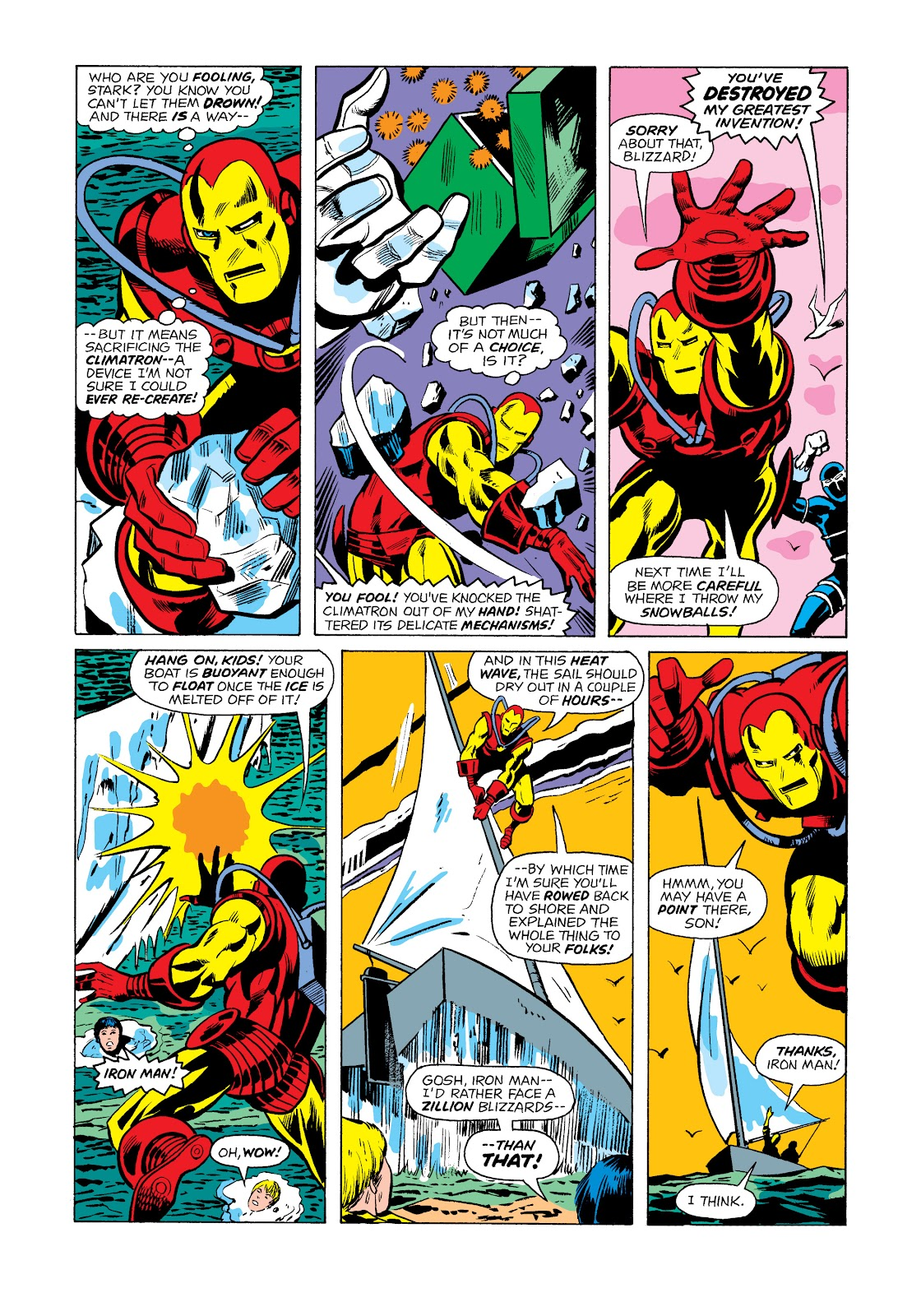 Read online Marvel Masterworks: The Invincible Iron Man comic -  Issue # TPB 11 (Part 2) - 16