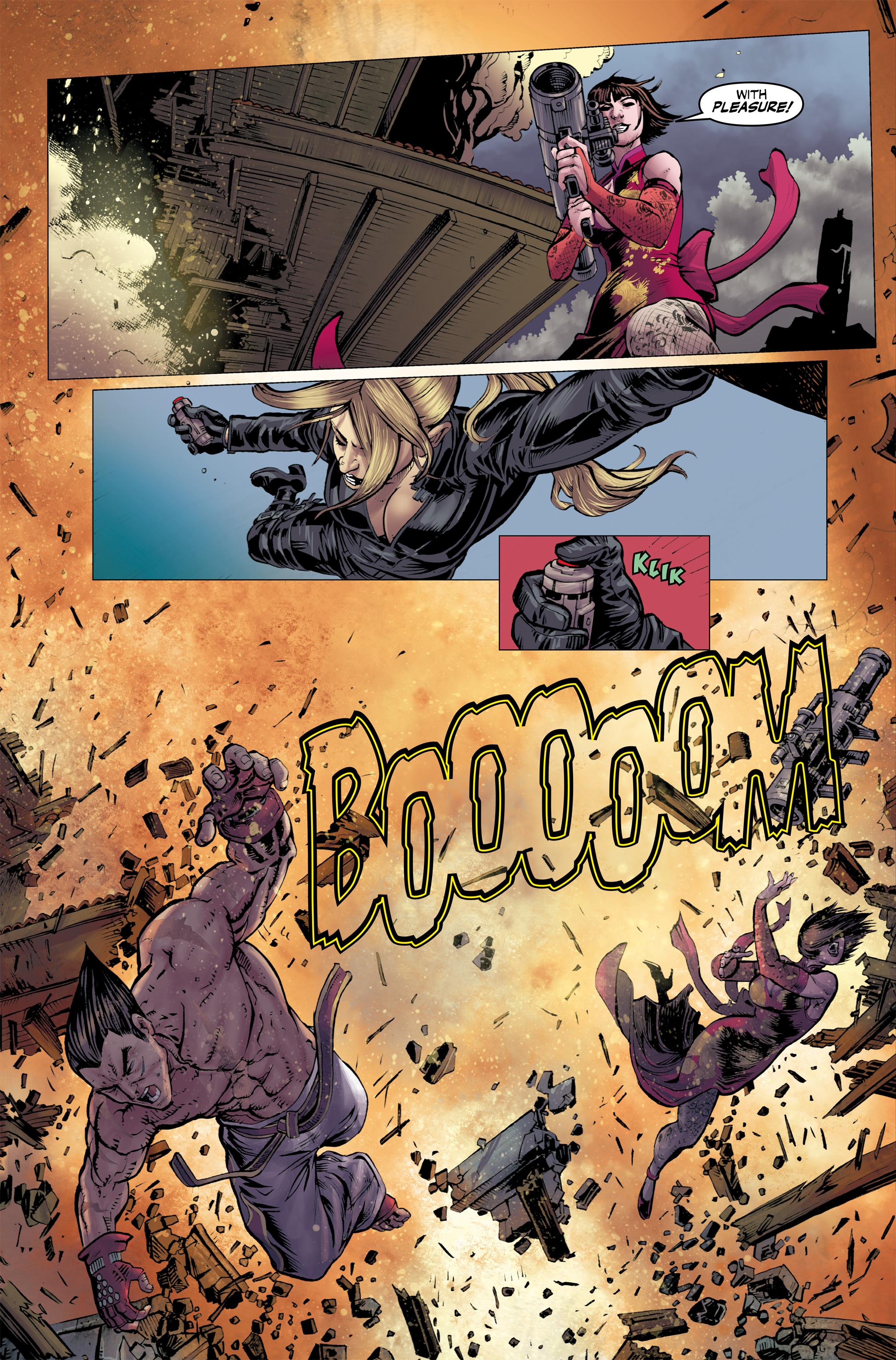 Read online Tekken comic -  Issue #2 - 17
