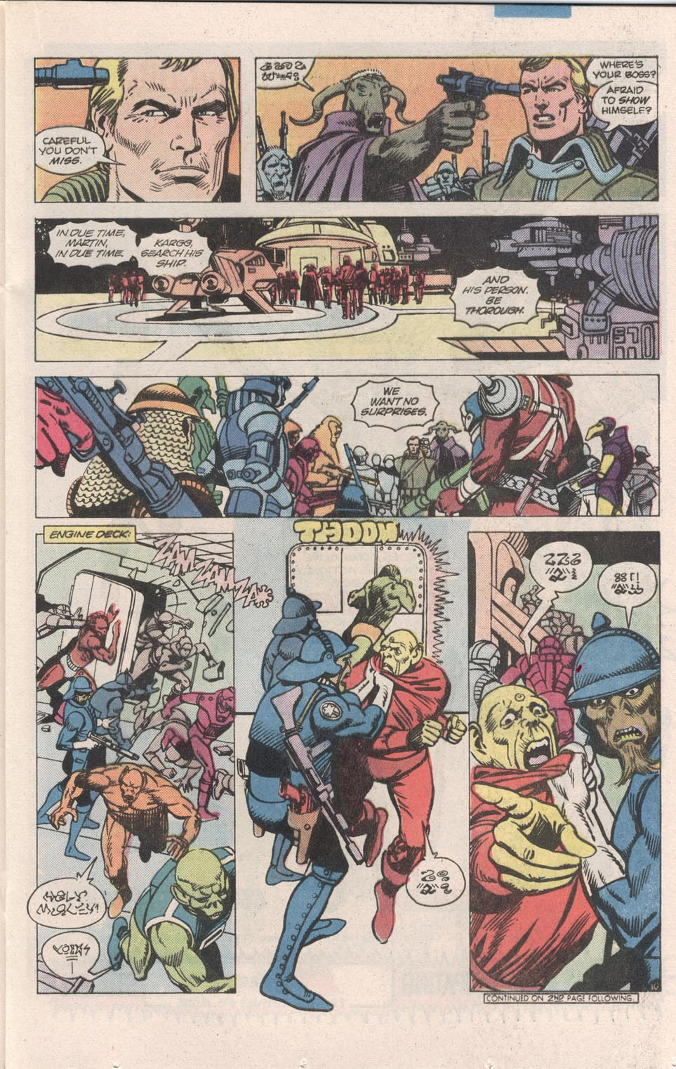 Read online Atari Force (1984) comic -  Issue #7 - 11