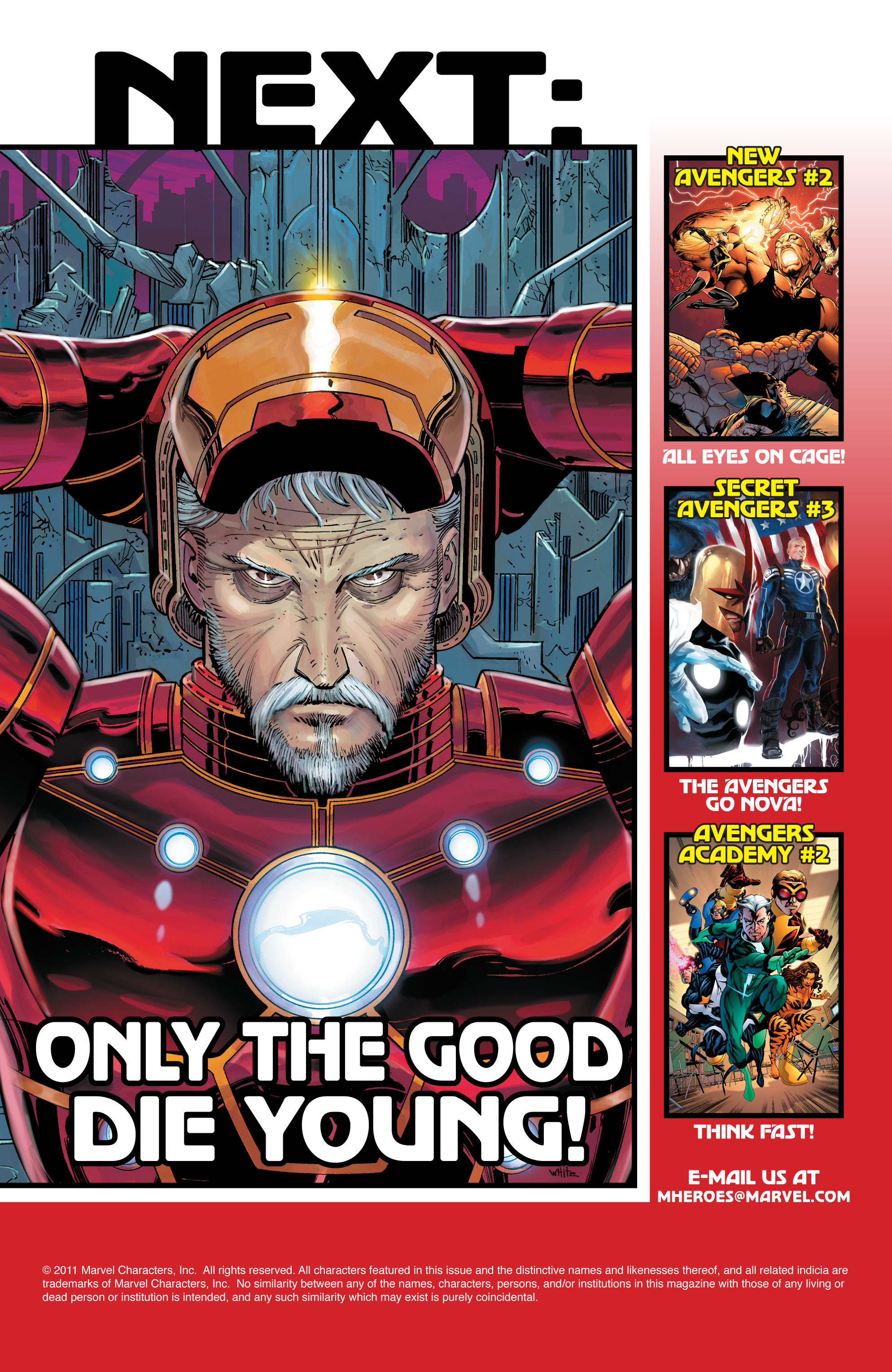 Read online Avengers (2010) comic -  Issue #3 - 32