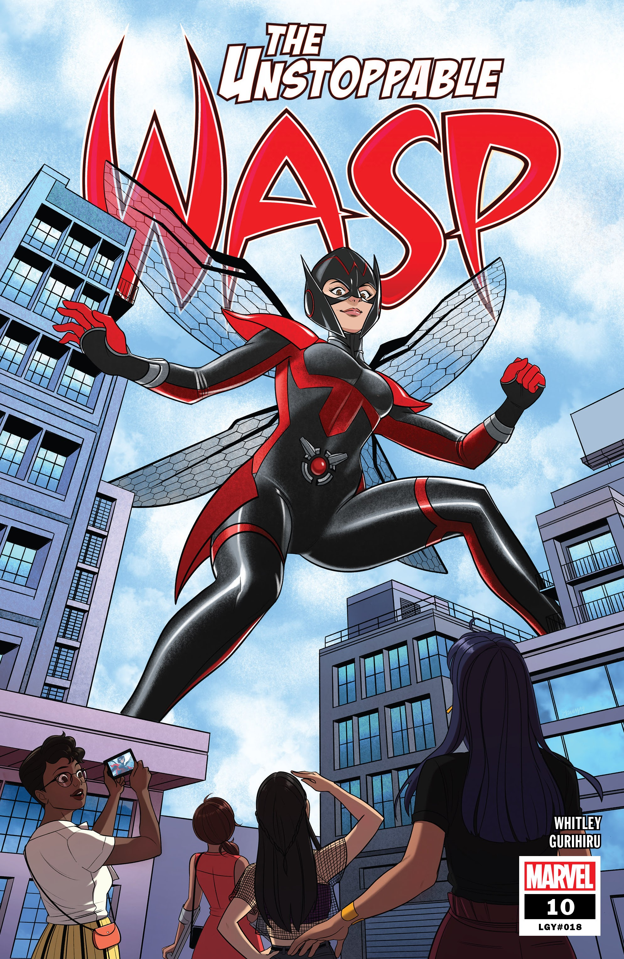 The Unstoppable Wasp (2018) 10 Page 1