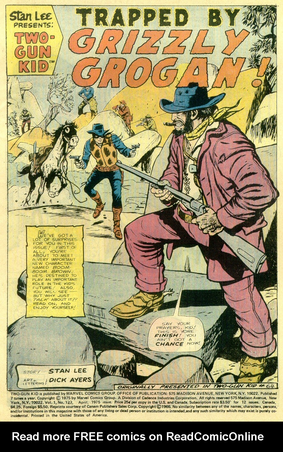 Read online Two-Gun Kid comic -  Issue #123 - 3