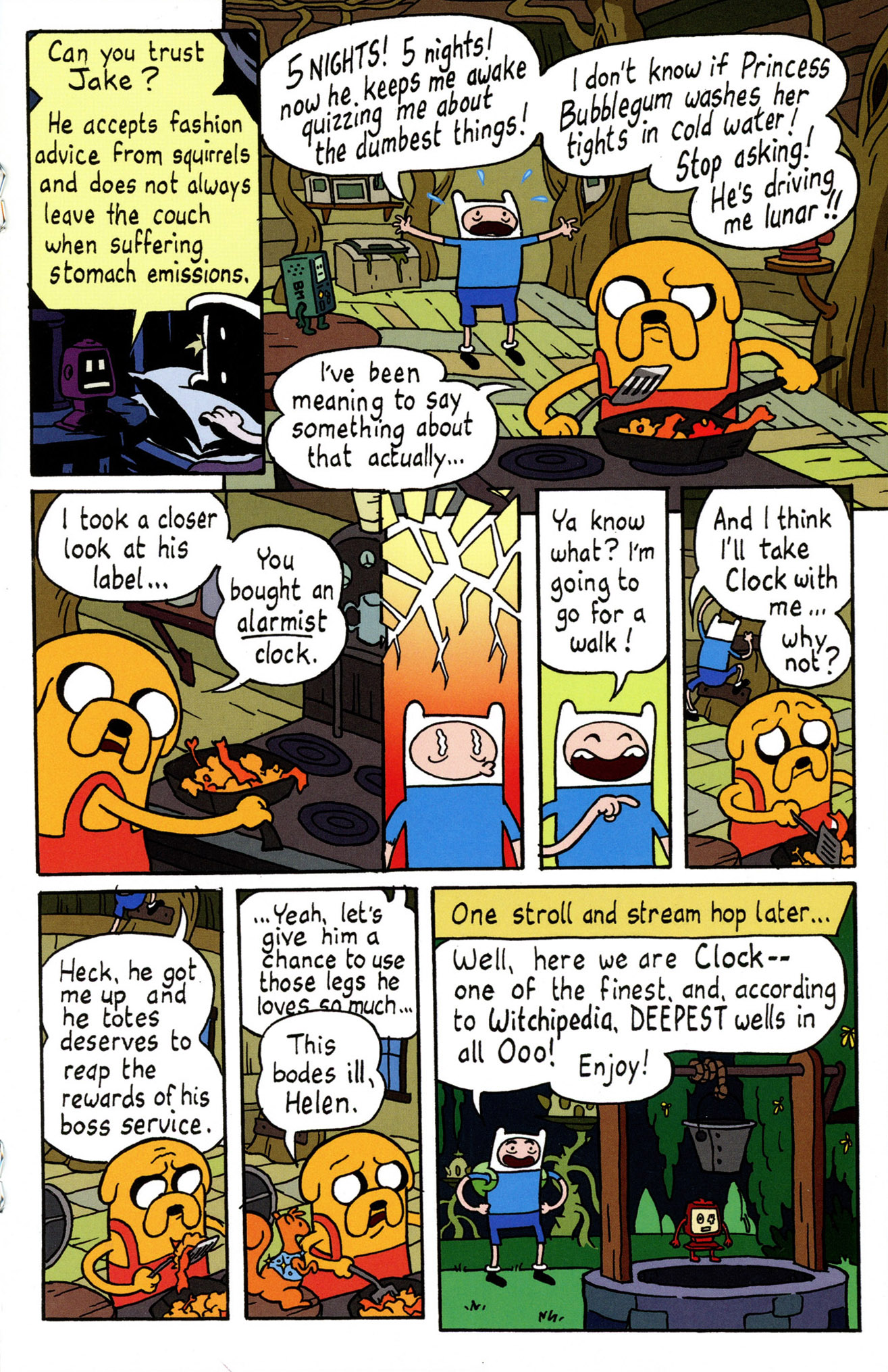 Read online Adventure Time Comics comic -  Issue #4 - 17