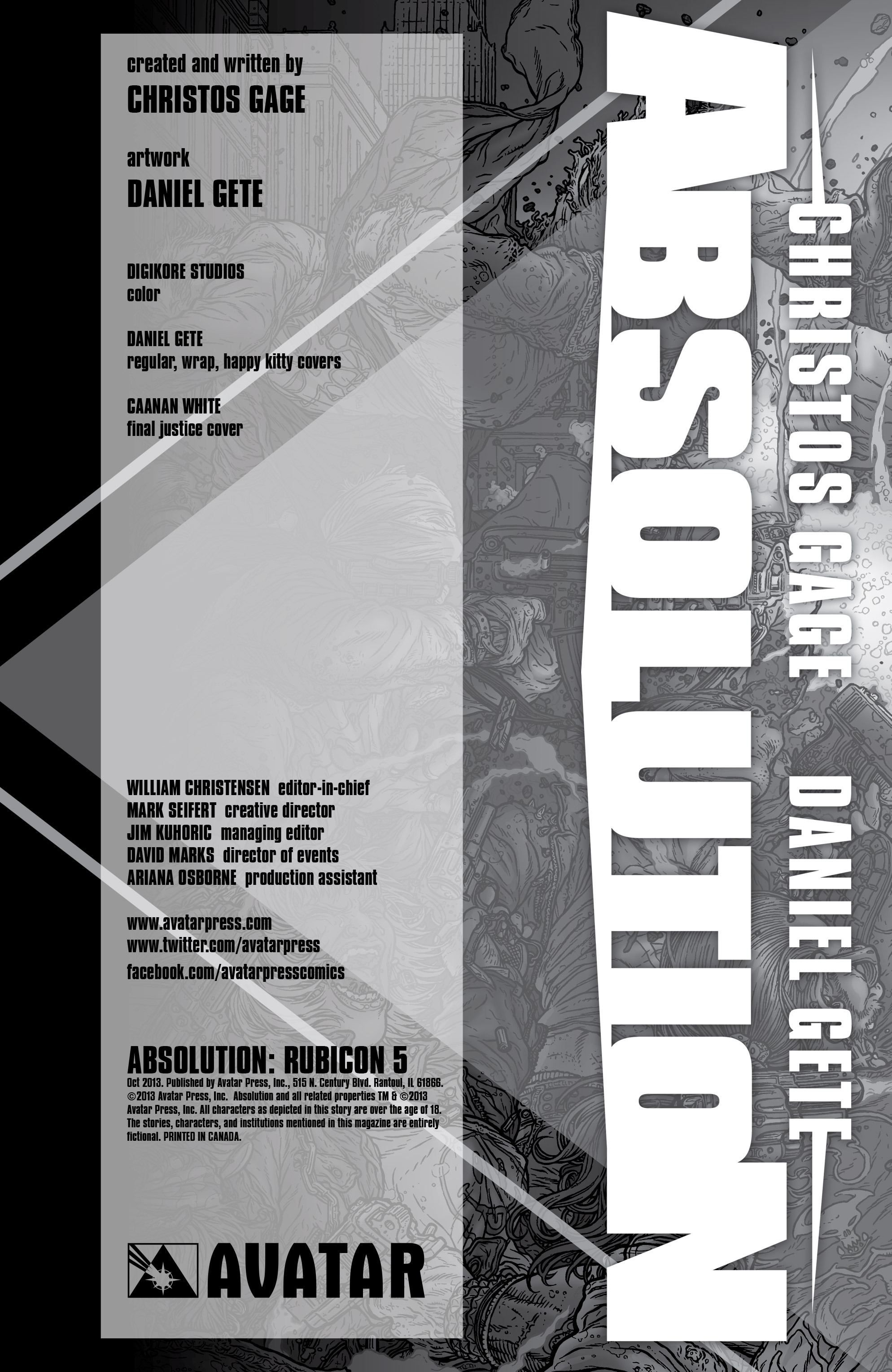 Read online Absolution: Rubicon comic -  Issue #5 - 6