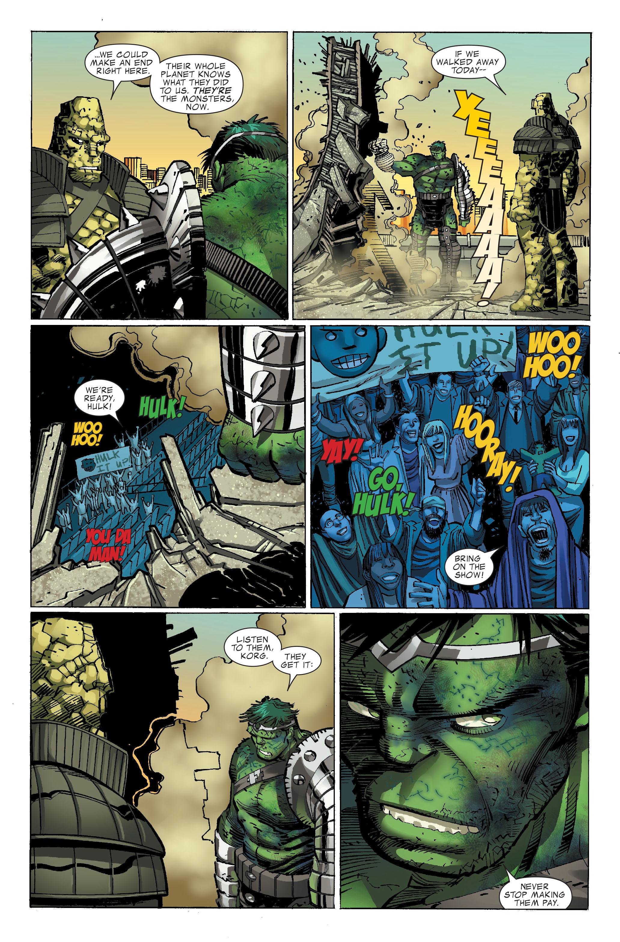 Read online World War Hulk comic -  Issue #3 - 29