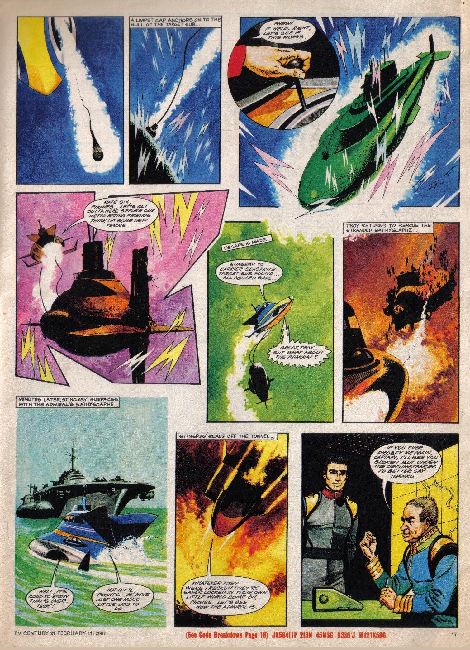 Read online TV Century 21 (TV 21) comic -  Issue #108 - 14