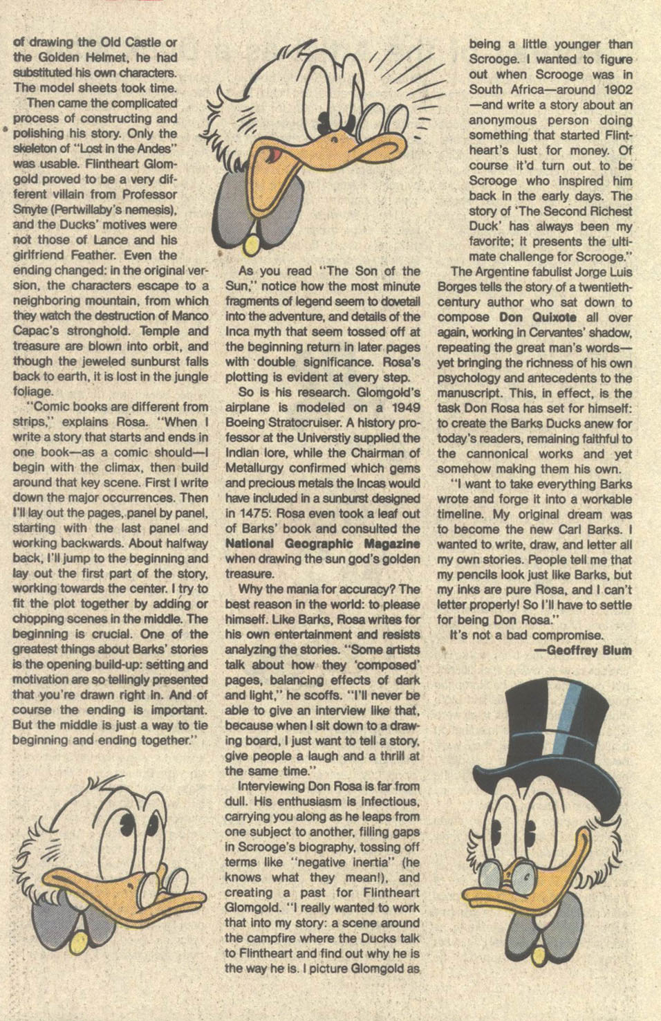 Read online Uncle Scrooge (1953) comic -  Issue #219 - 34