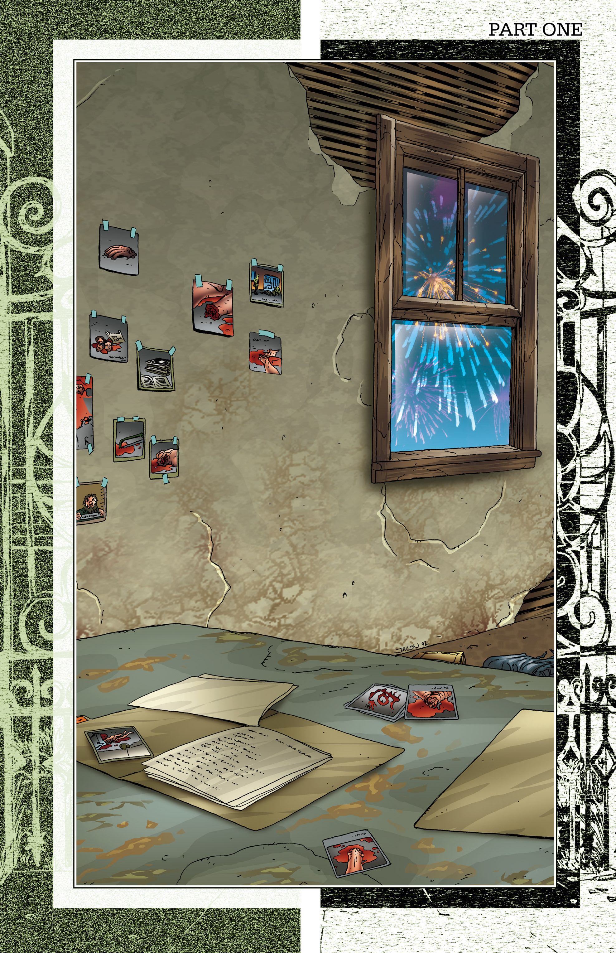 Read online Alan Moore's The Courtyard comic -  Issue # TPB - 4