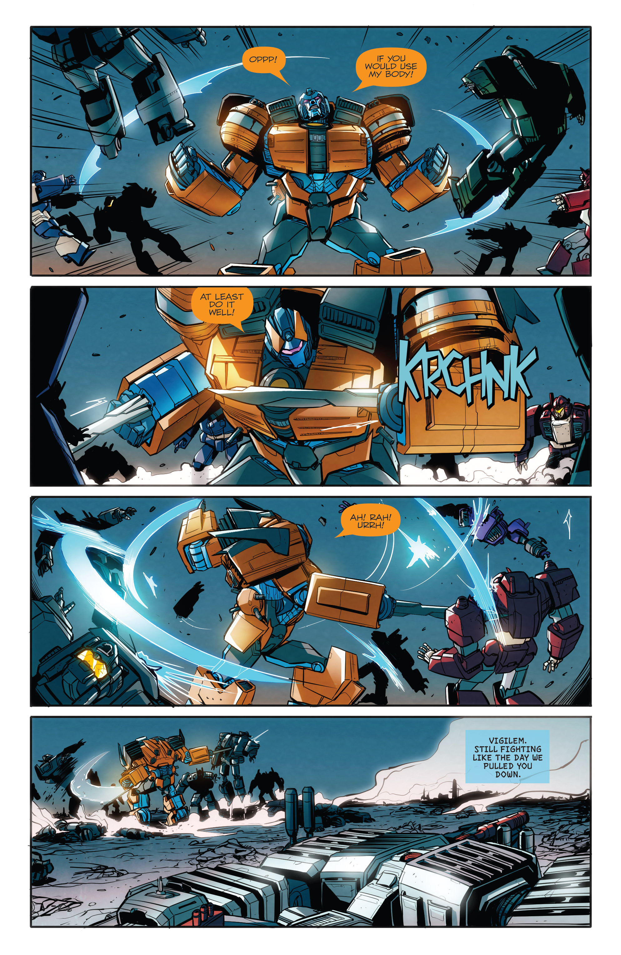 Read online Transformers: Till All Are One comic -  Issue #8 - 11