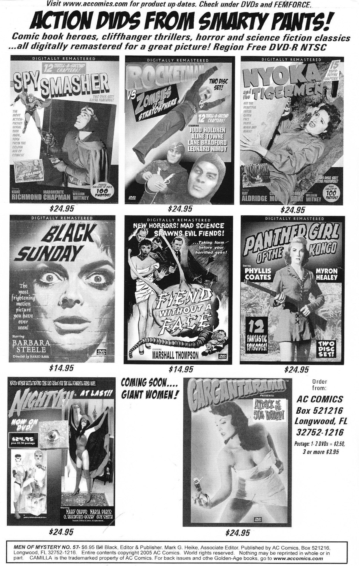 Read online Men of Mystery Comics comic -  Issue #57 - 2