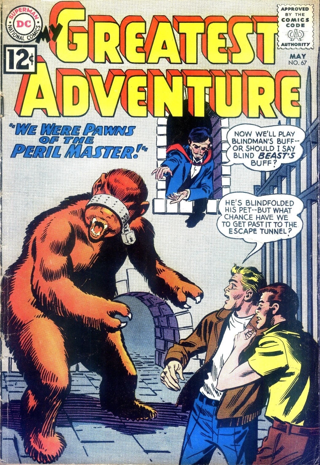 My Greatest Adventure (1955) 67 Page 1