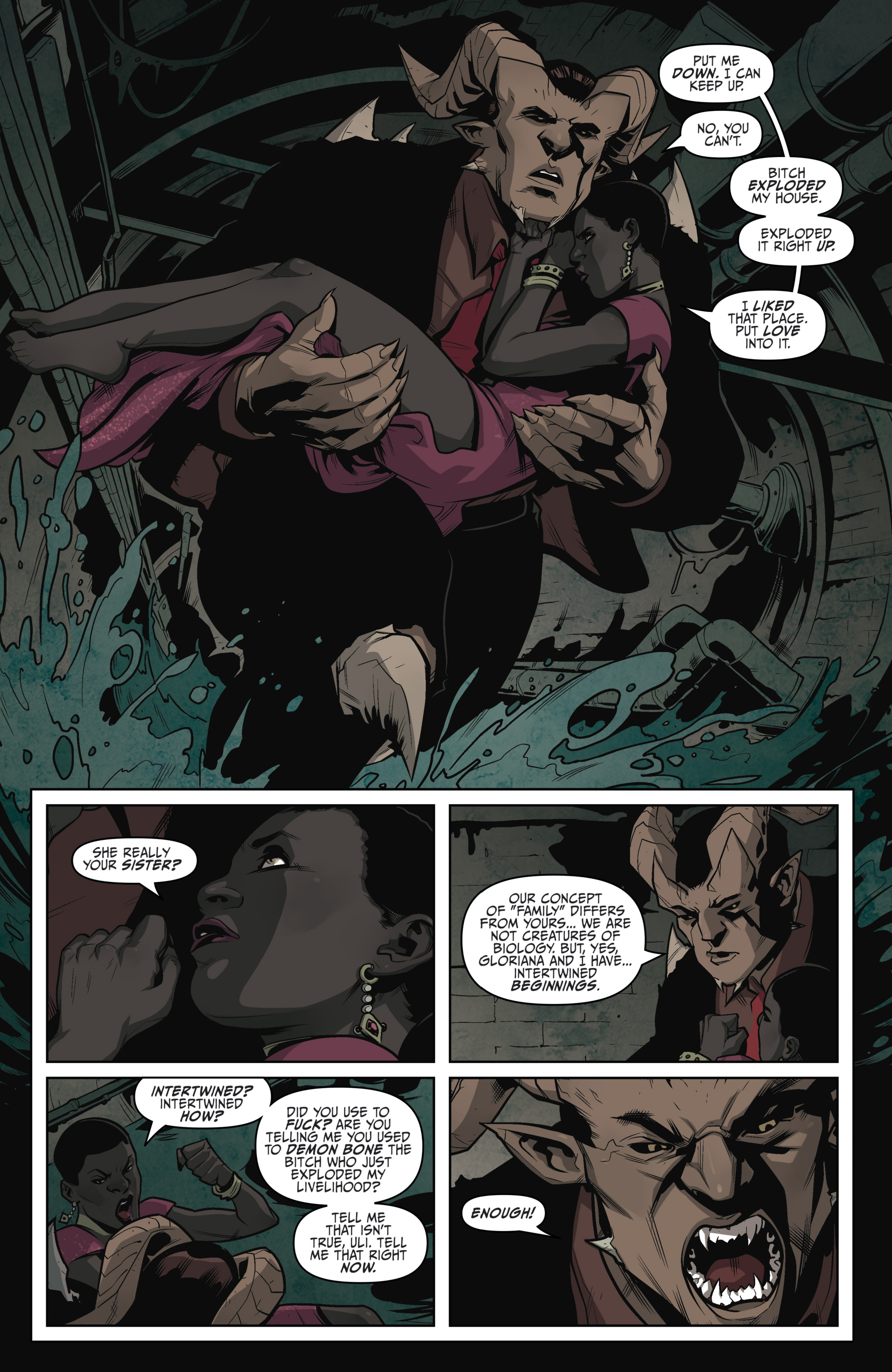 Read online Darkness Visible comic -  Issue #5 - 8