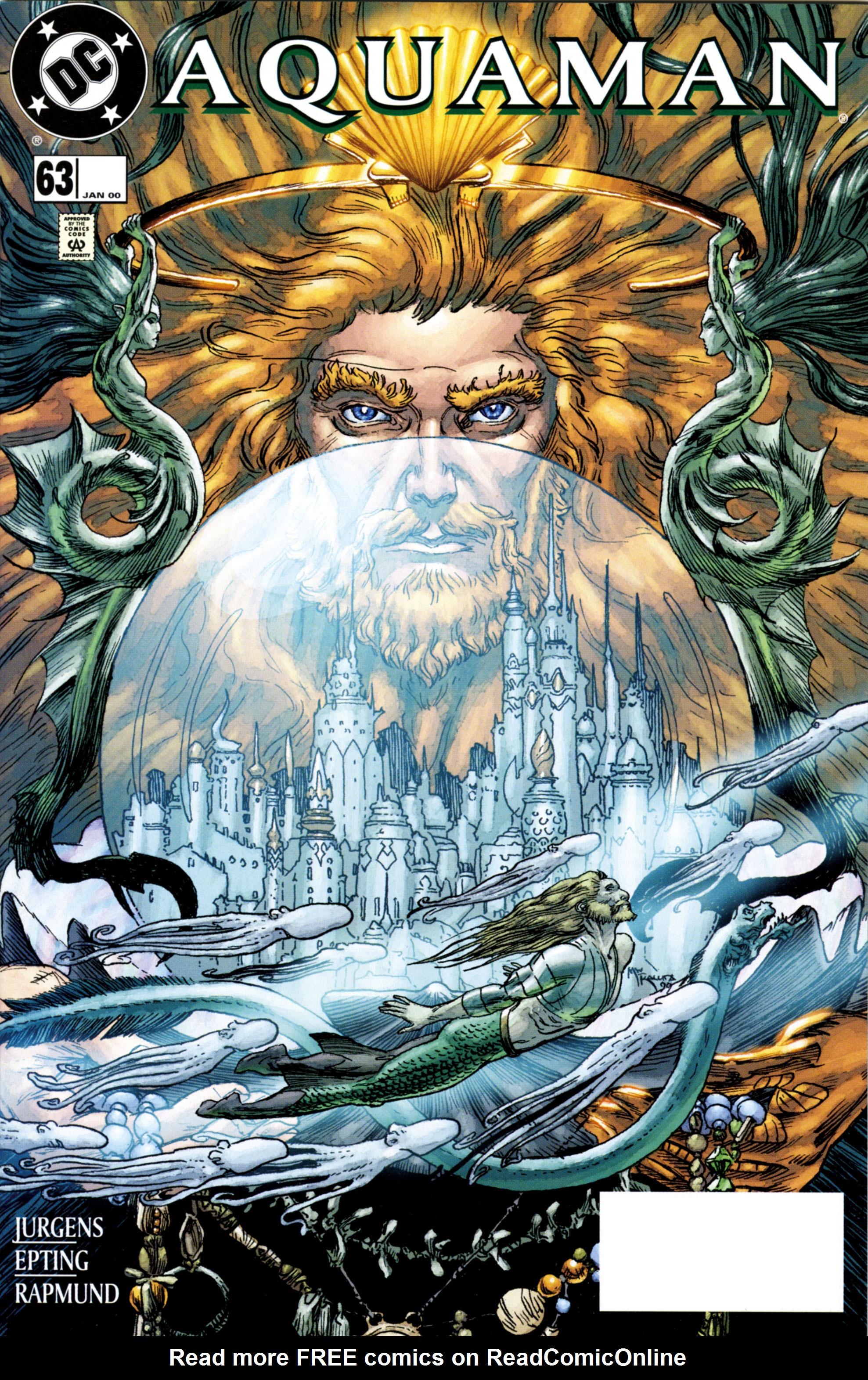Read online Aquaman (1994) comic -  Issue #63 - 1
