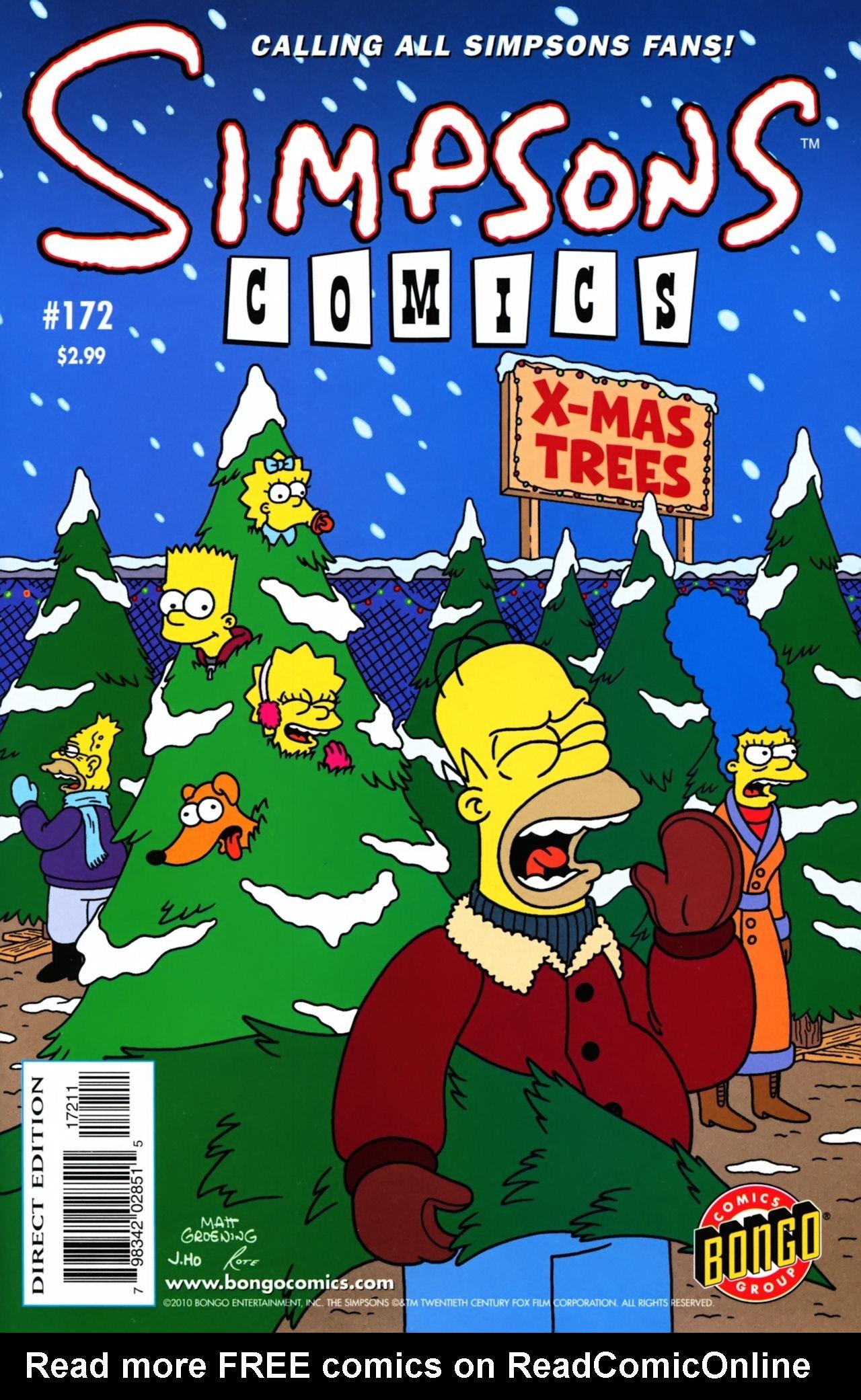 Read online Simpsons Comics comic -  Issue #172 - 1