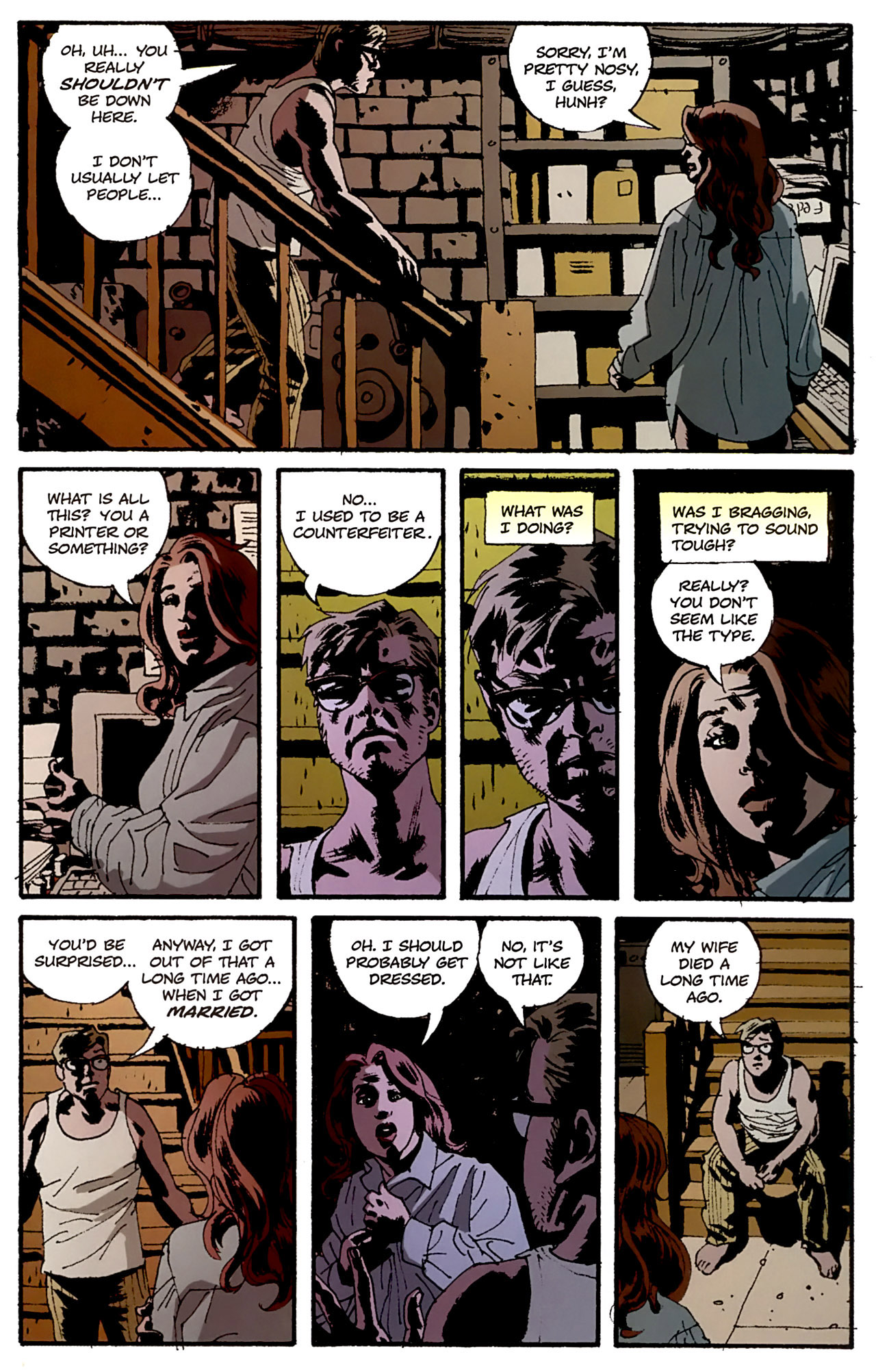 Read online Criminal (2008) comic -  Issue #4 - 21