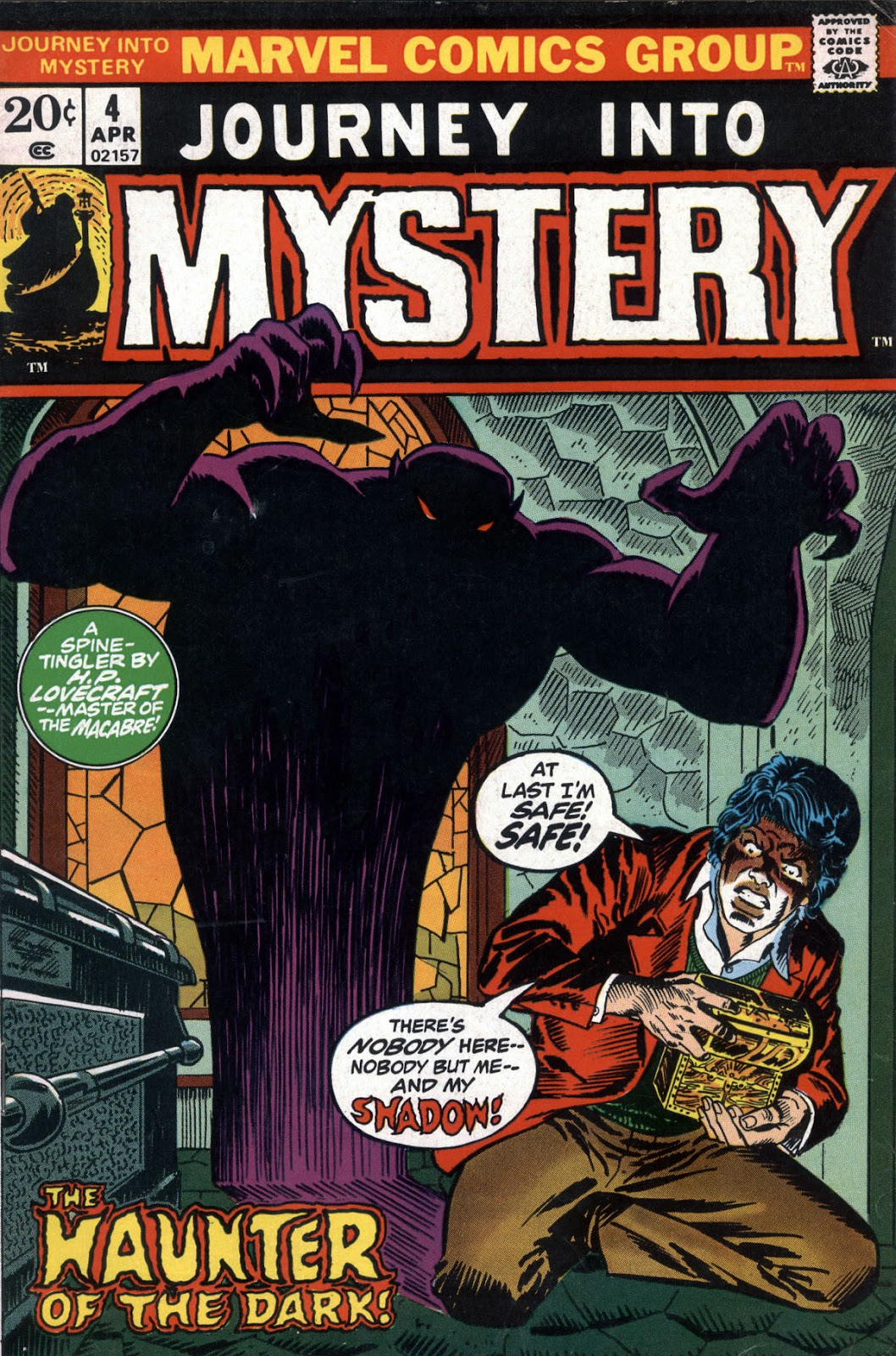 Journey Into Mystery (1972) issue 4 - Page 1