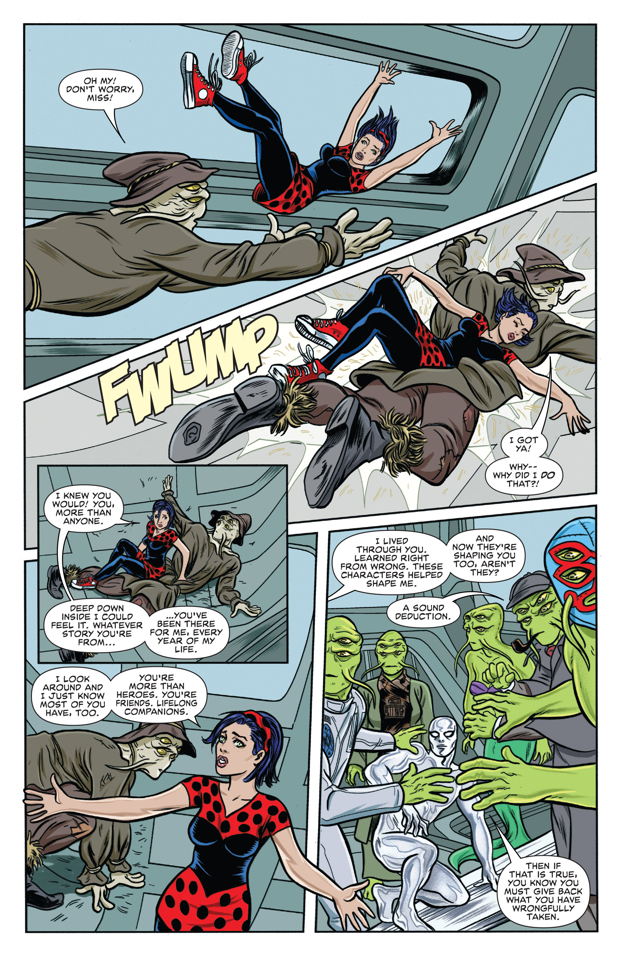 Read online Silver Surfer (2016) comic -  Issue #1 - 17