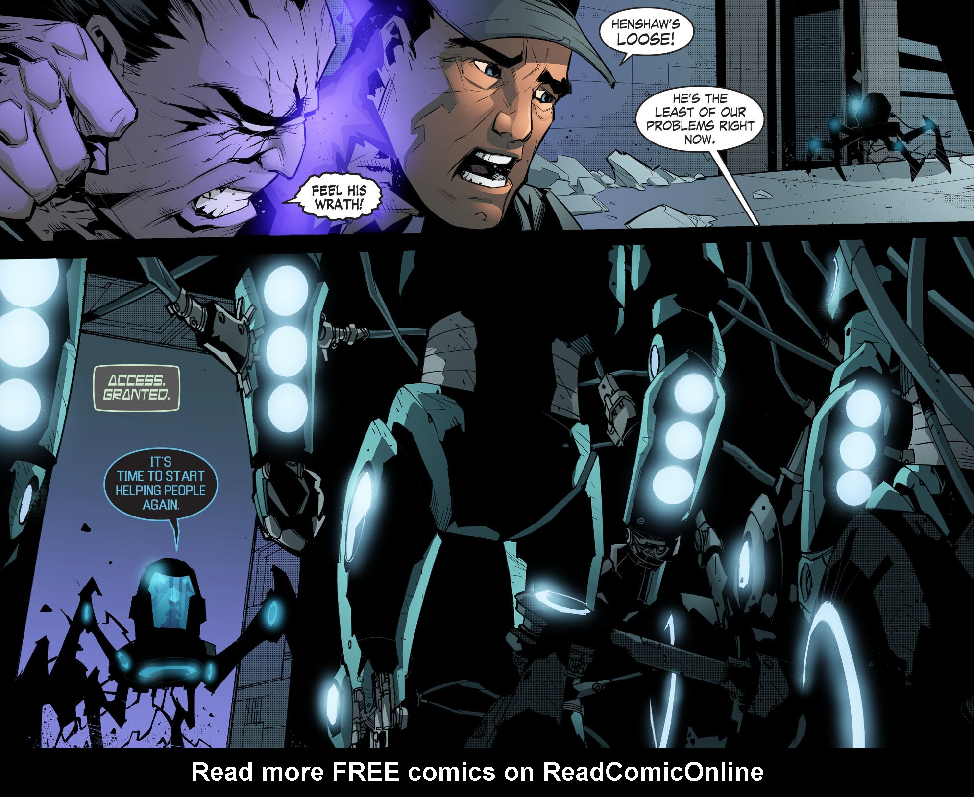 Read online Smallville: Chaos [II] comic -  Issue #5 - 10