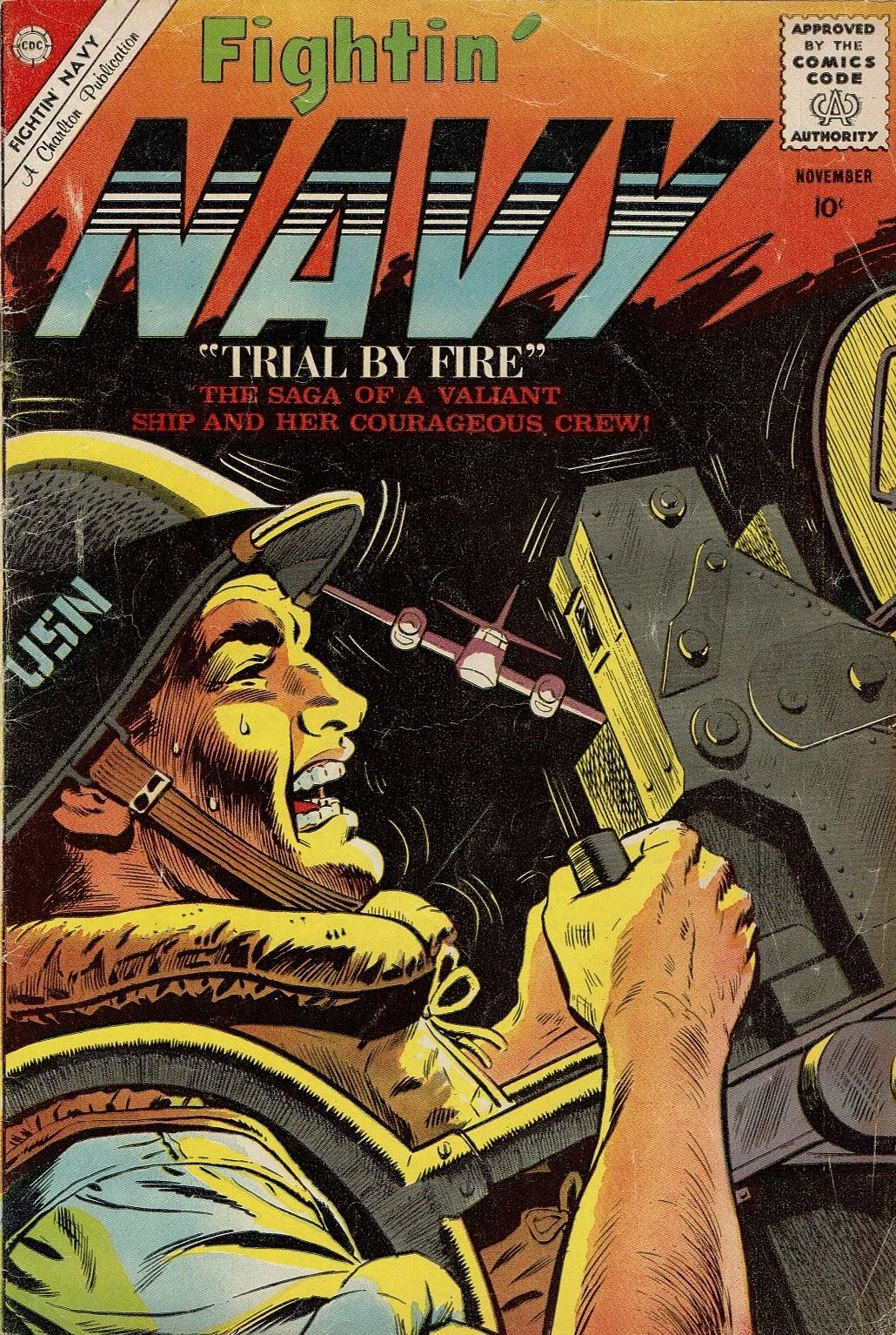 Read online Fightin' Navy comic -  Issue #95 - 1