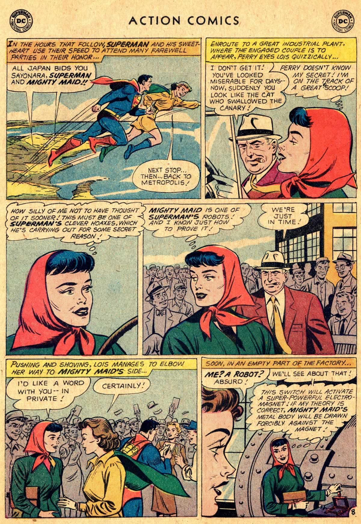 Action Comics (1938) 260 Page 8