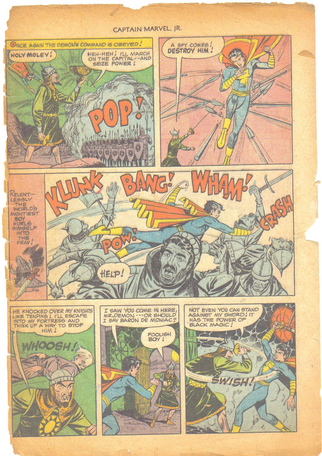 Captain Marvel, Jr. issue 95 - Page 48