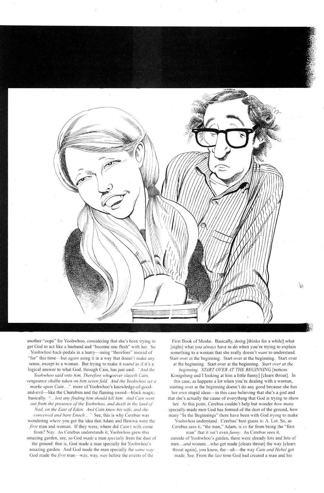 Cerebus Issue #281 #280 - English 15