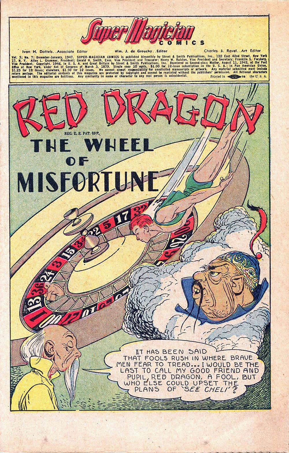 Read online Super-Magician Comics comic -  Issue #55 - 3