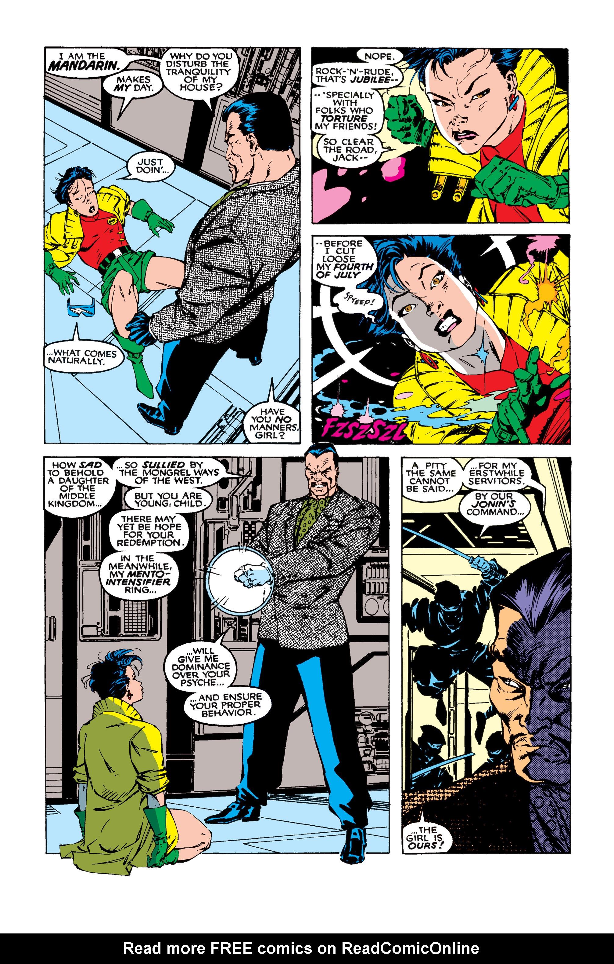 Read online Uncanny X-Men (1963) comic -  Issue #258 - 9