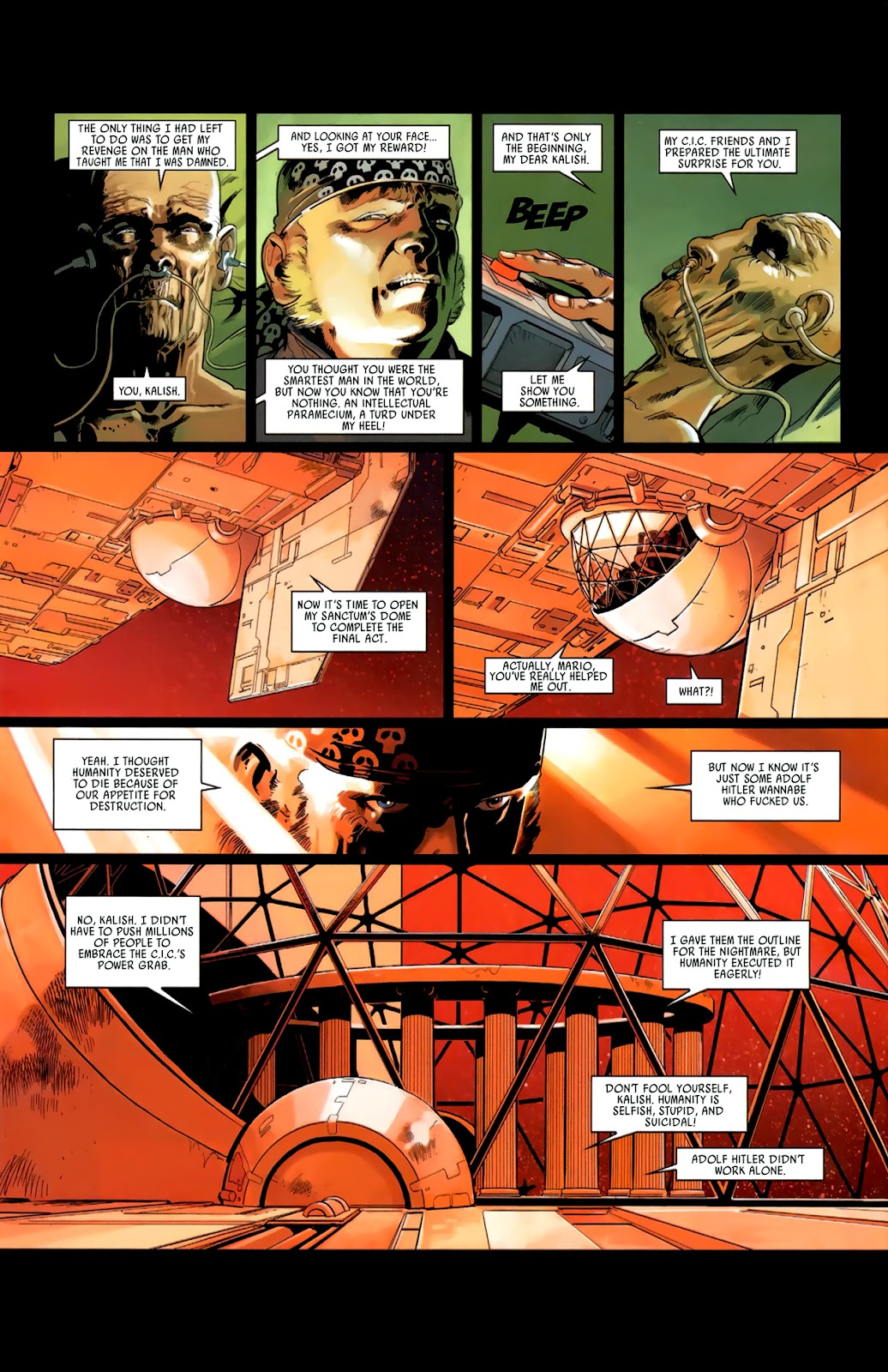 Read online Universal War One: Revelations comic -  Issue #3 - 36