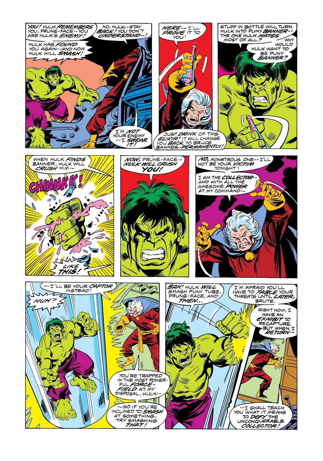 Read online Marvel Masterworks: The Incredible Hulk comic -  Issue # TPB 12 (Part 1) - 39