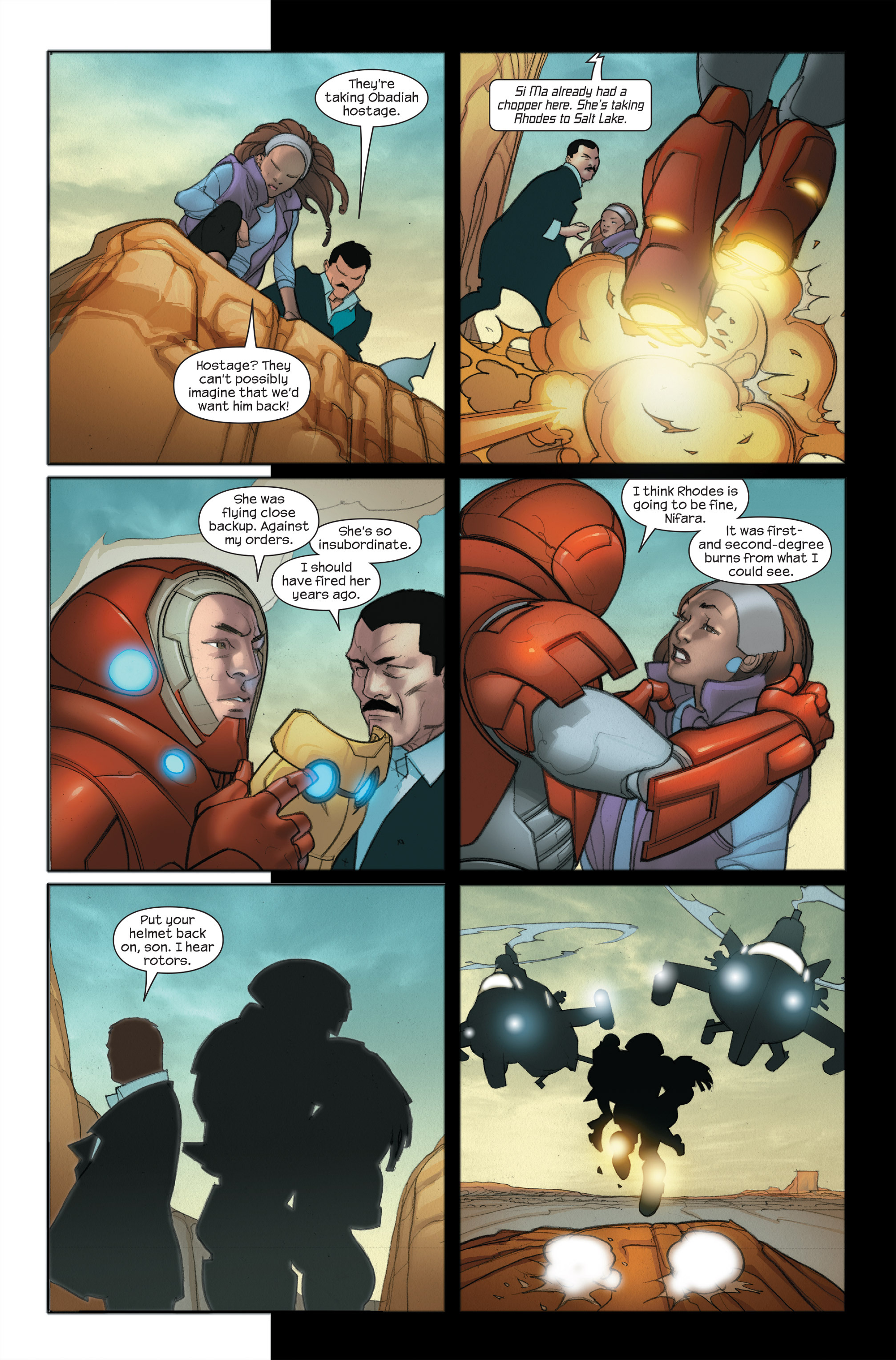 Read online Ultimate Iron Man II comic -  Issue #5 - 11