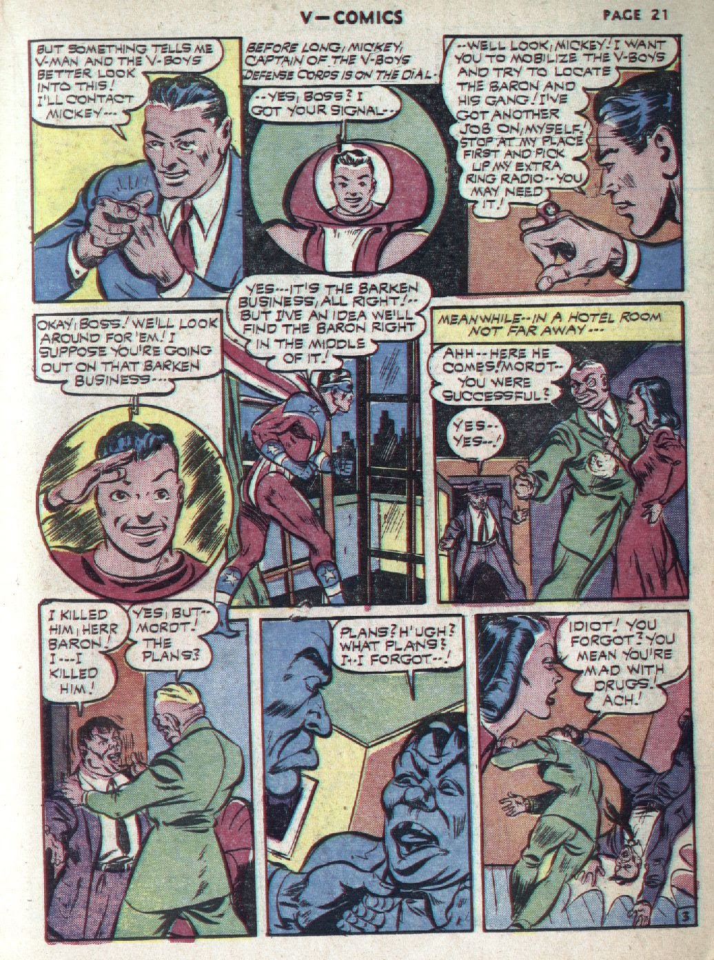 Read online V...- Comics comic -  Issue #1 - 23