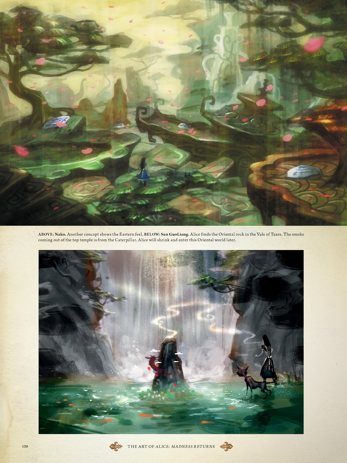 Read online The Art of Alice: Madness Returns comic -  Issue # TPB (Part 2) - 17