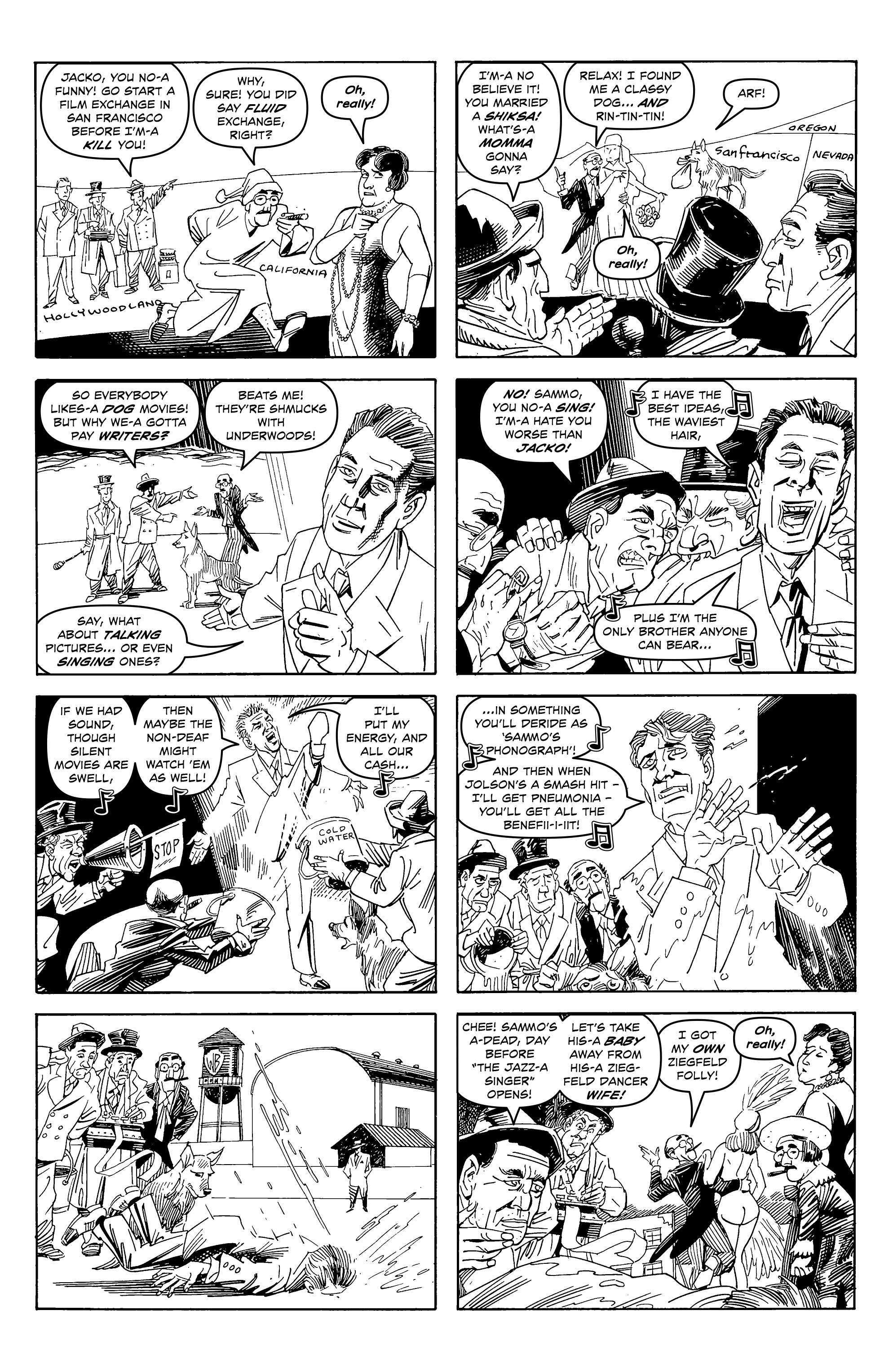 Read online Alan Moore's Cinema Purgatorio comic -  Issue #6 - 7