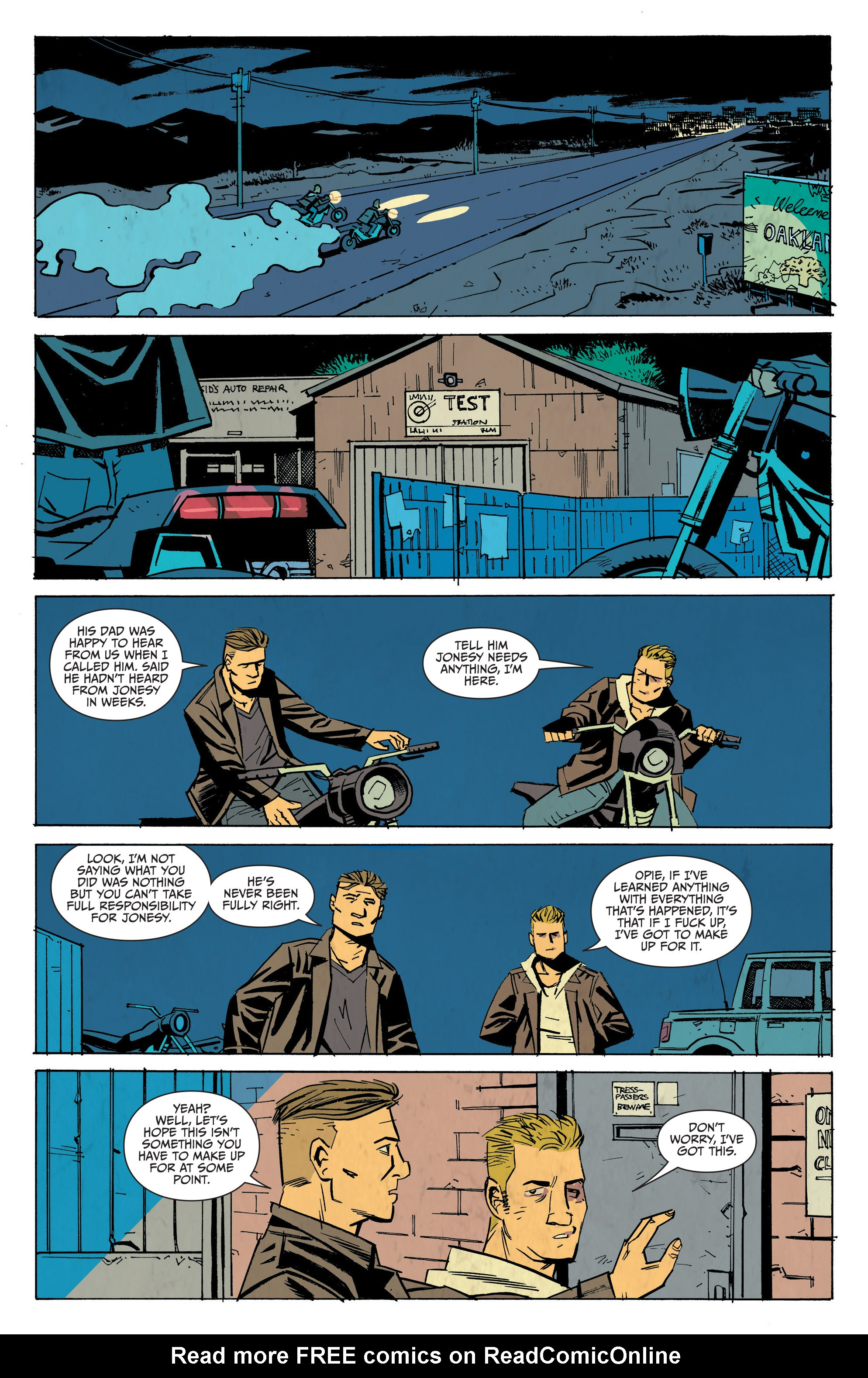 Read online Sons of Anarchy: Redwood Original comic -  Issue #7 - 8