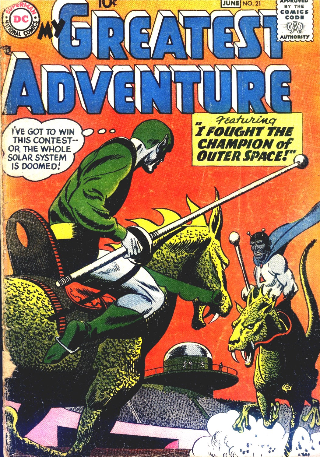 My Greatest Adventure (1955) issue 21 - Page 1