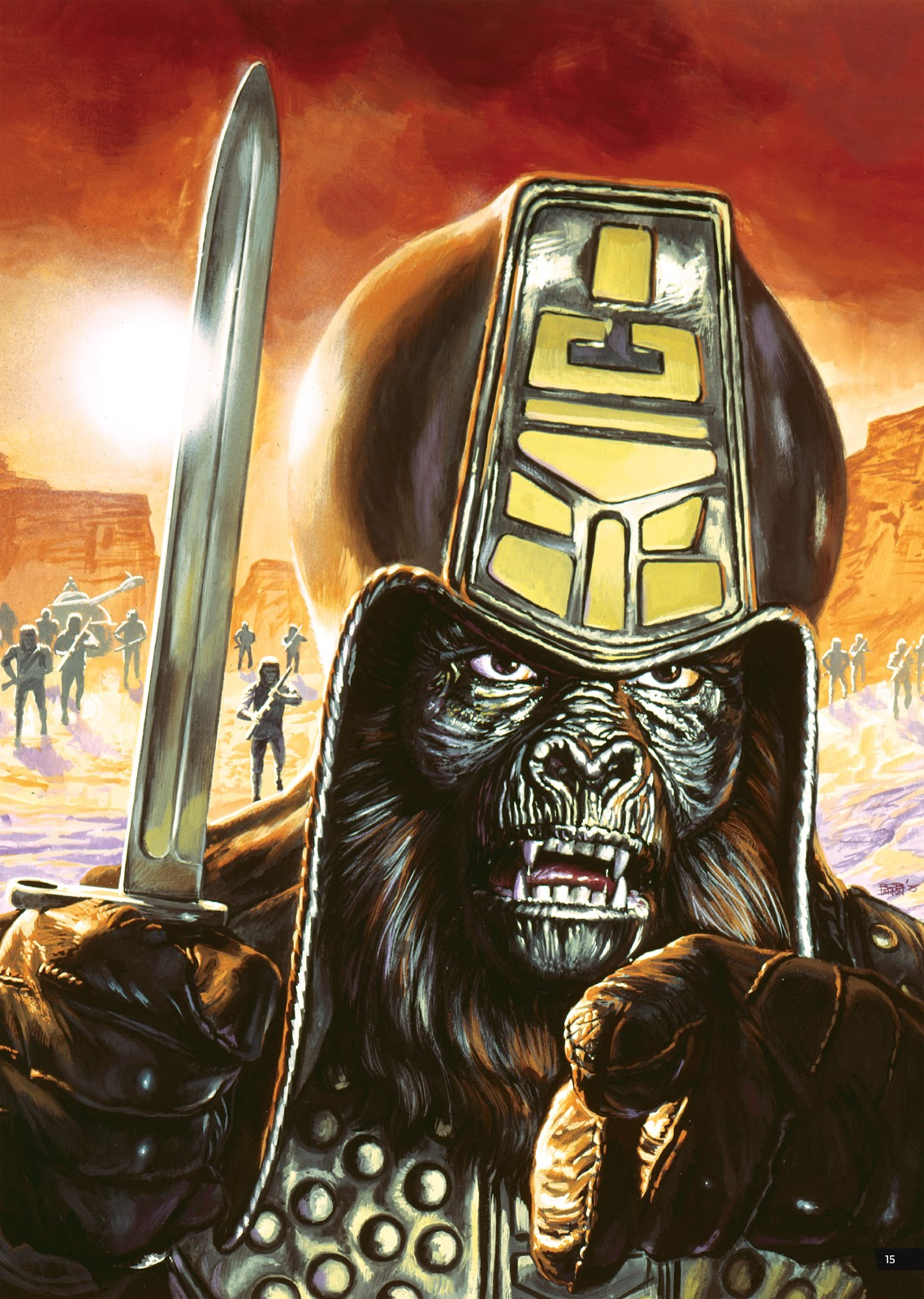 Read online Planet of the Apes Artist Tribute comic -  Issue # TPB - 15