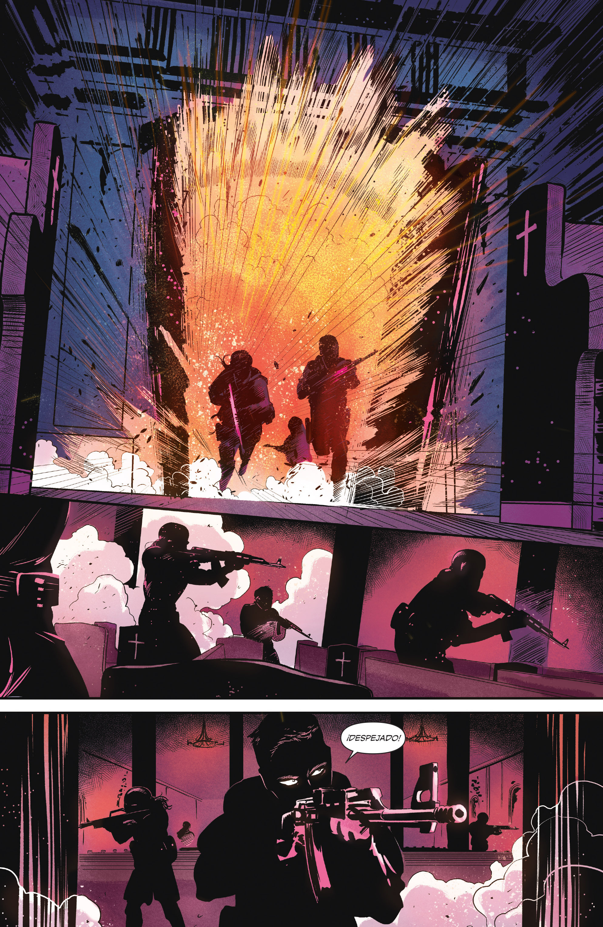 Read online Sombra comic -  Issue #1 - 24