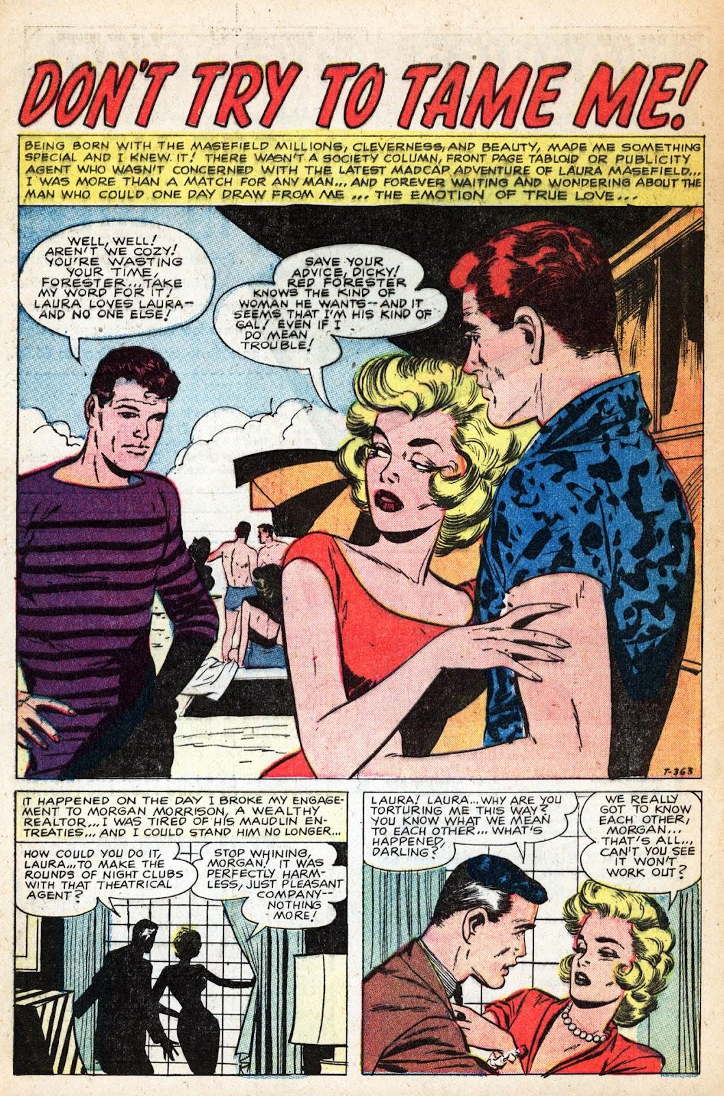 Love Romances (1949) issue 83 - Page 28