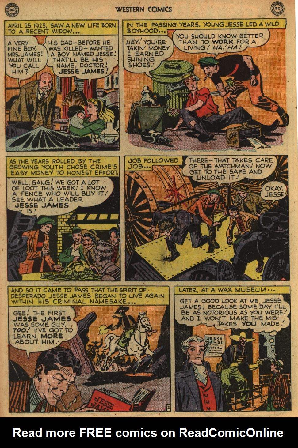 Western Comics issue 1 - Page 24