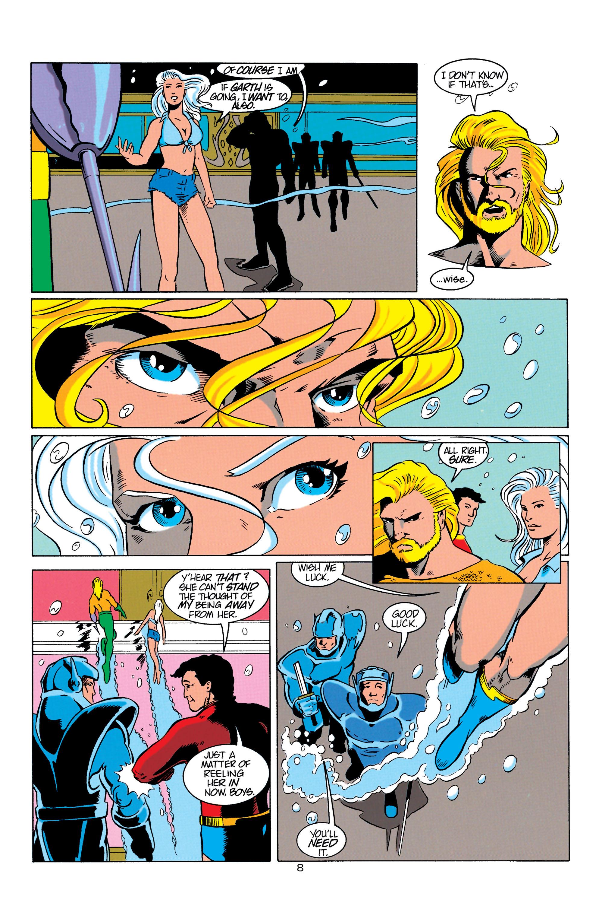 Read online Aquaman (1994) comic -  Issue #3 - 8