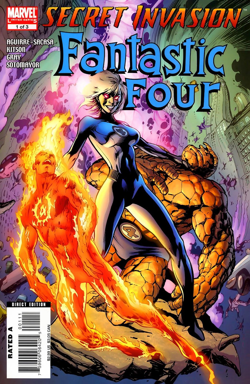 Secret Invasion: Fantastic Four issue 1 - Page 1