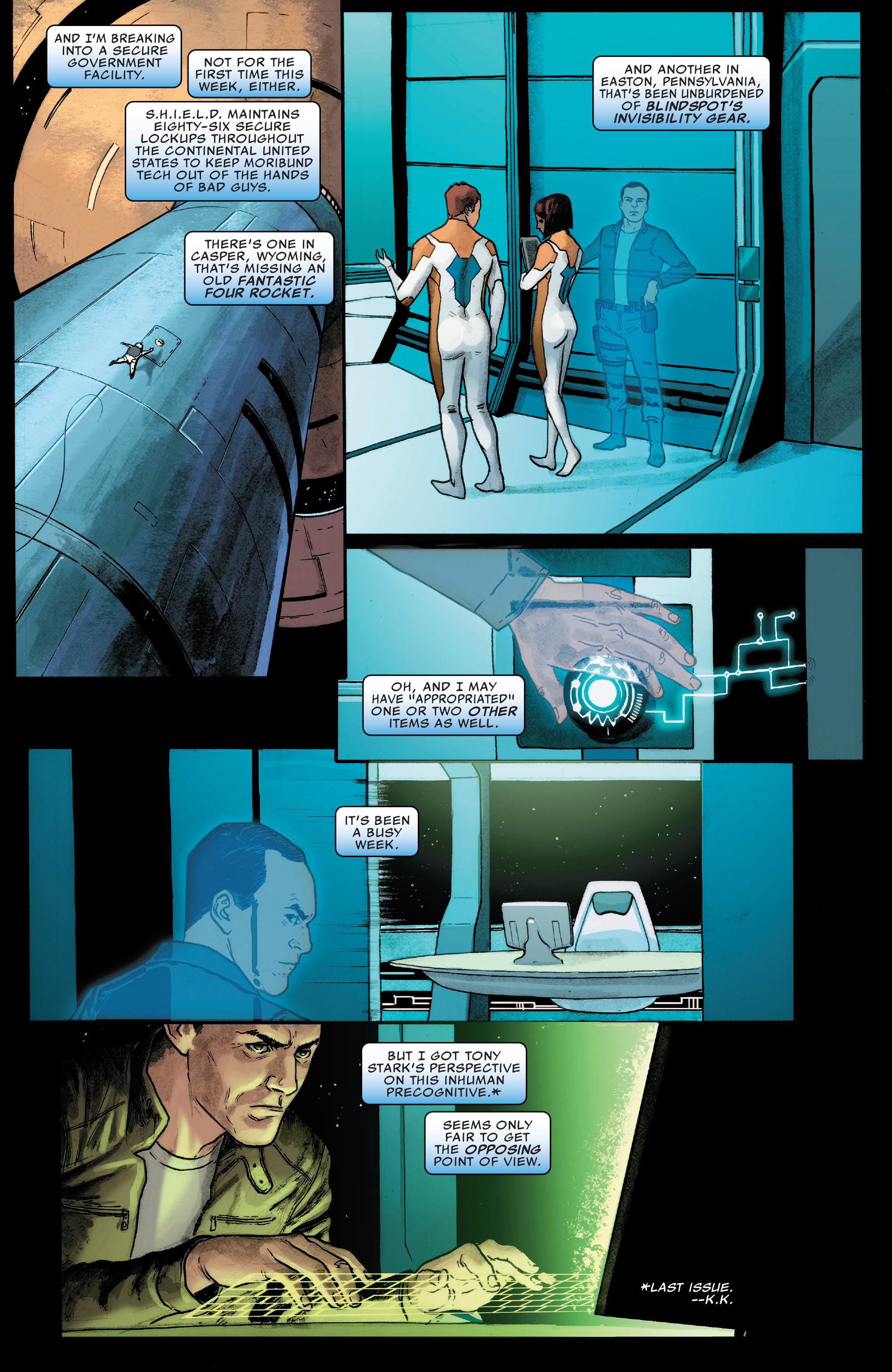 Read online Agents of S.H.I.E.L.D. comic -  Issue #8 - 3