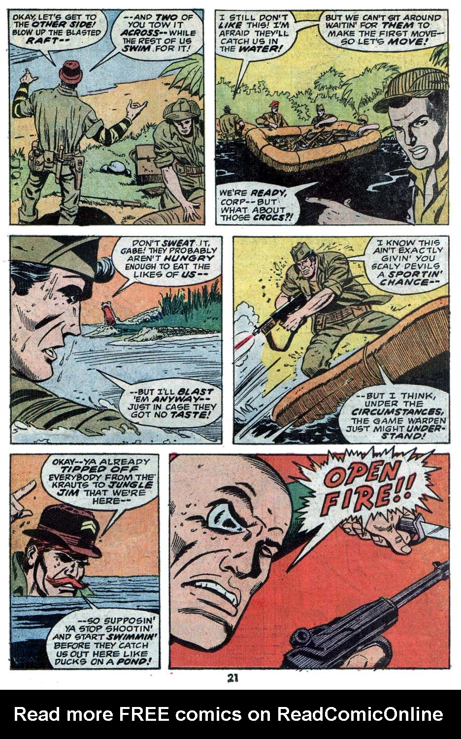 Read online Sgt. Fury comic -  Issue #114 - 23