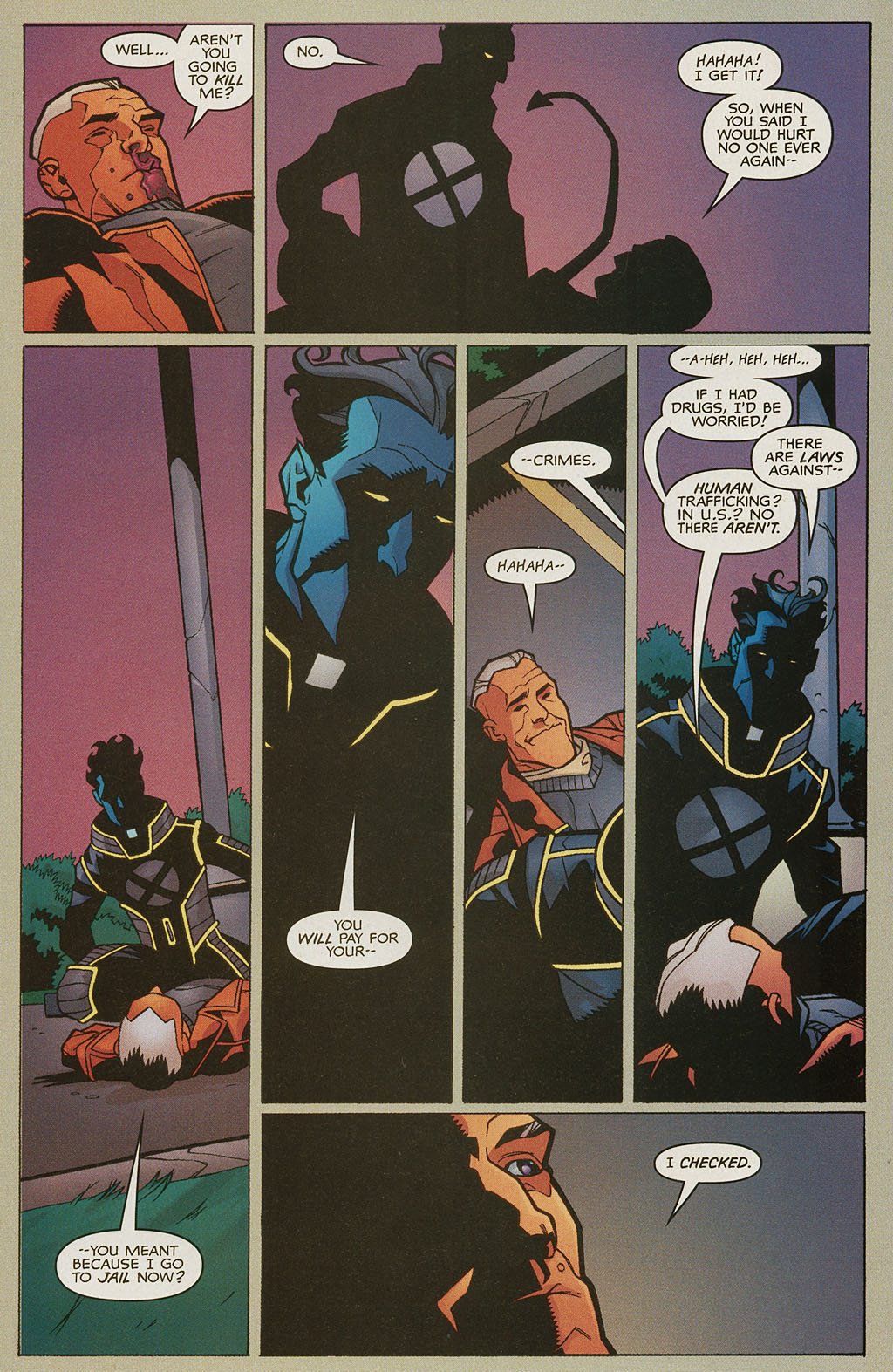 Read online Nightcrawler (2002) comic -  Issue #4 - 20